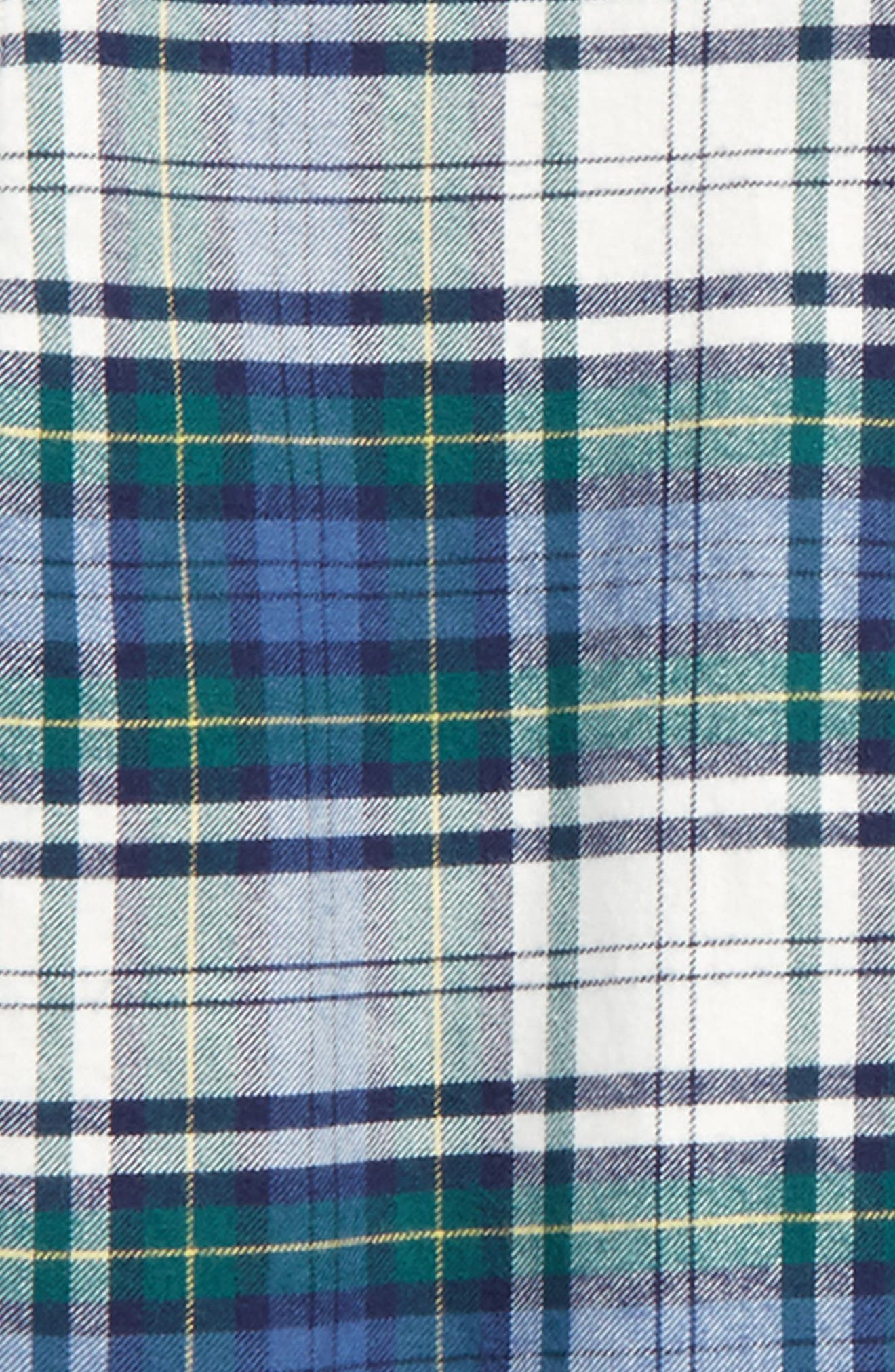 Hayward Point Plaid Flannel Shirt,                             Alternate thumbnail 2, color,                             342
