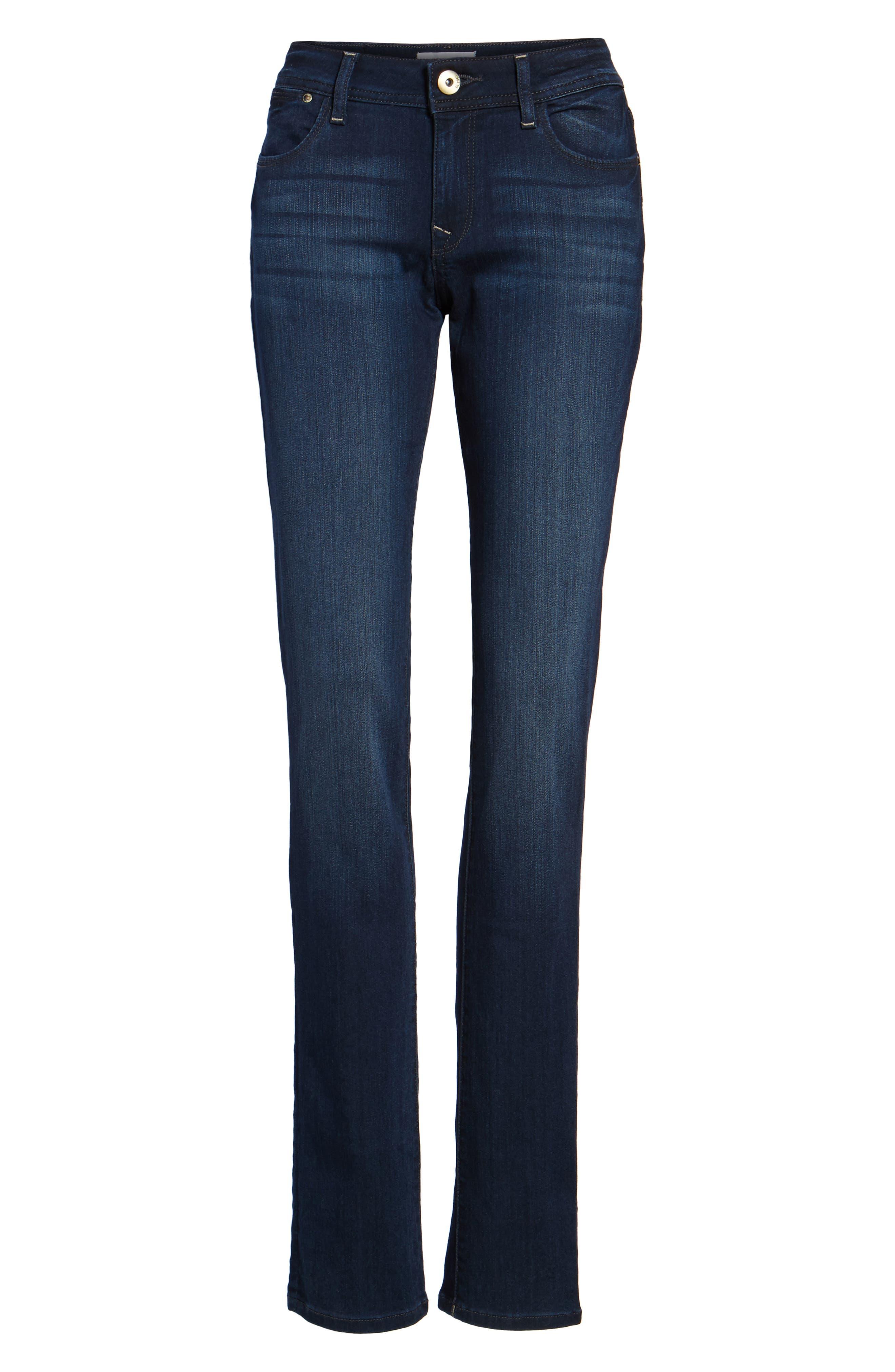 'Grace' Straight Jeans,                             Alternate thumbnail 7, color,                             405