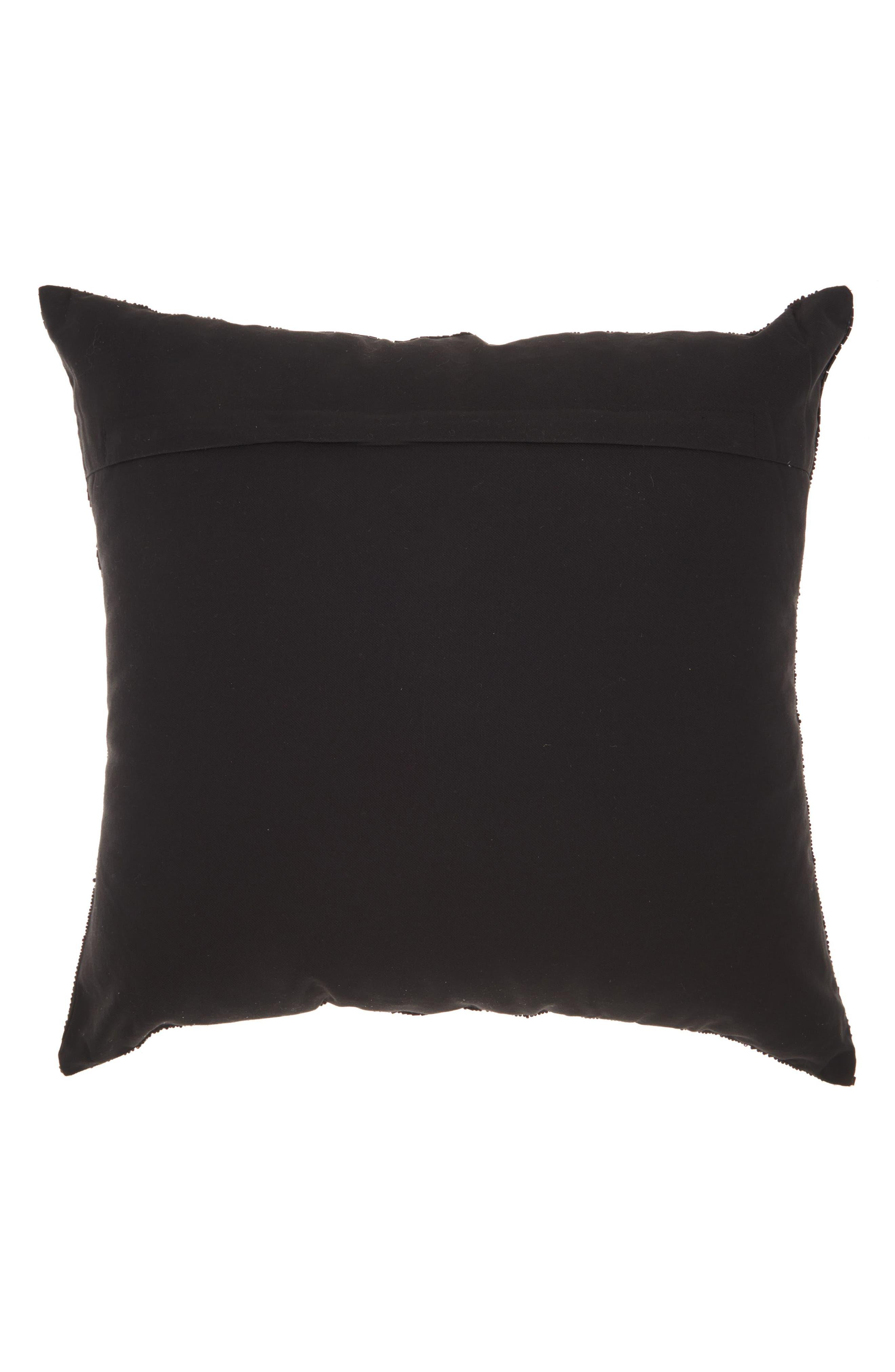 Beaded Fan Pillow,                             Alternate thumbnail 2, color,                             001