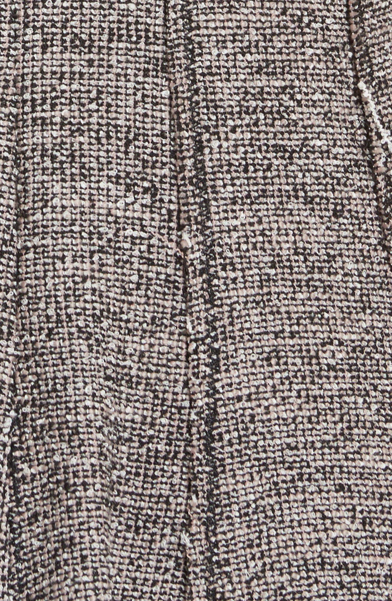 Stretch Tweed Dress,                             Alternate thumbnail 5, color,                             256