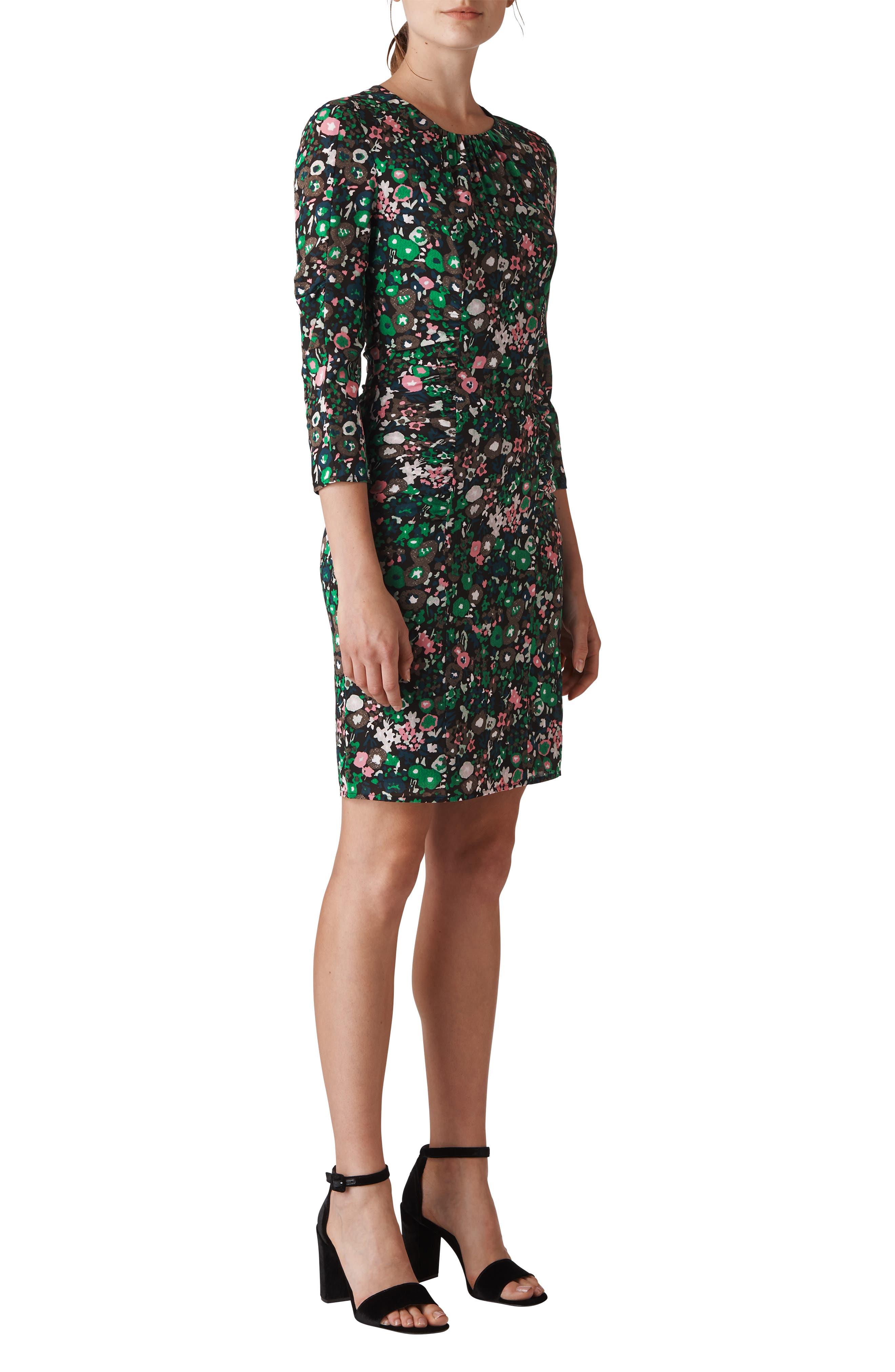 Adelaide Body-Con Dress,                         Main,                         color, PINK/ MULTI