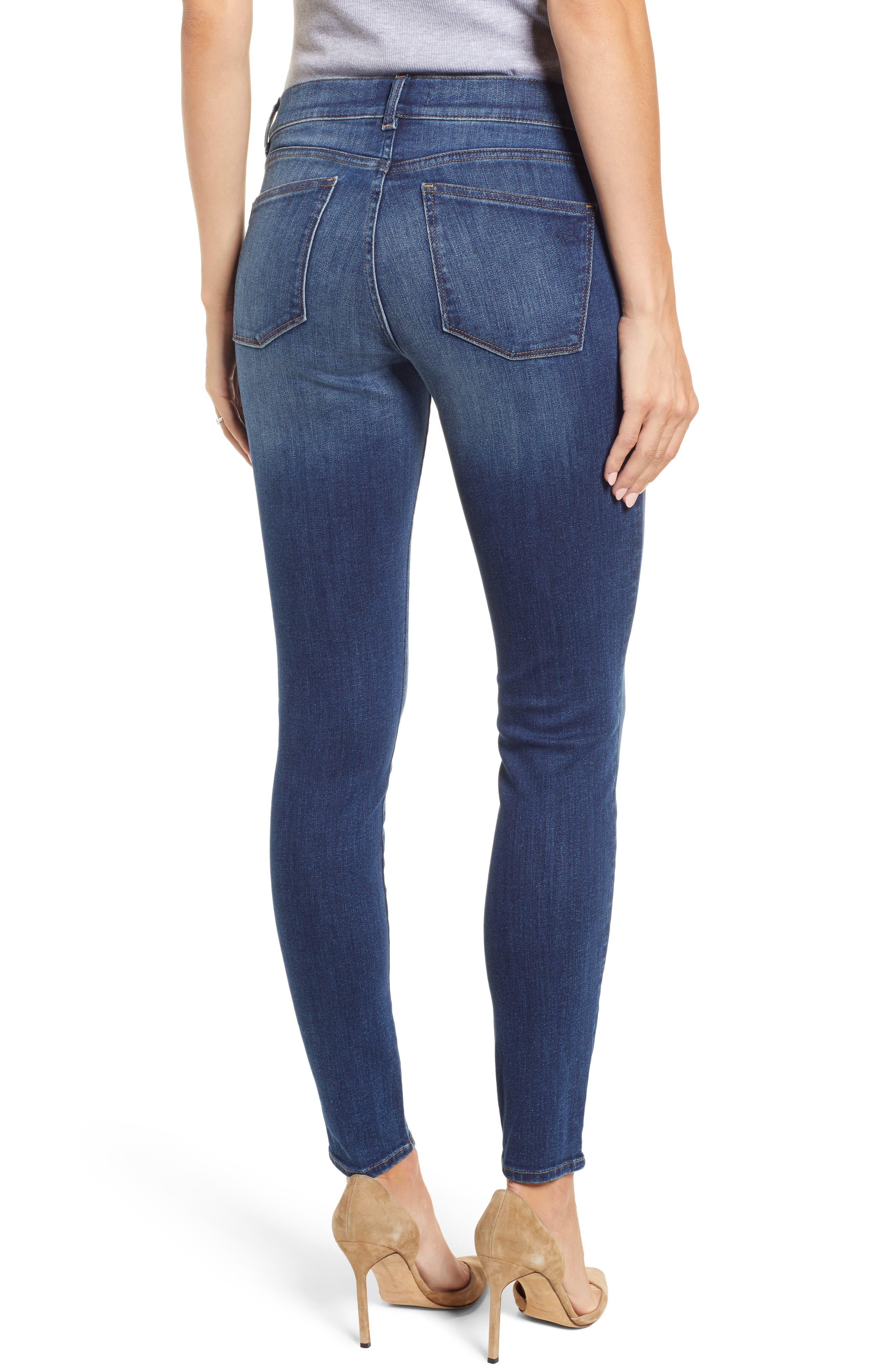 Florence Maternity Skinny Jeans,                             Alternate thumbnail 2, color,                             001
