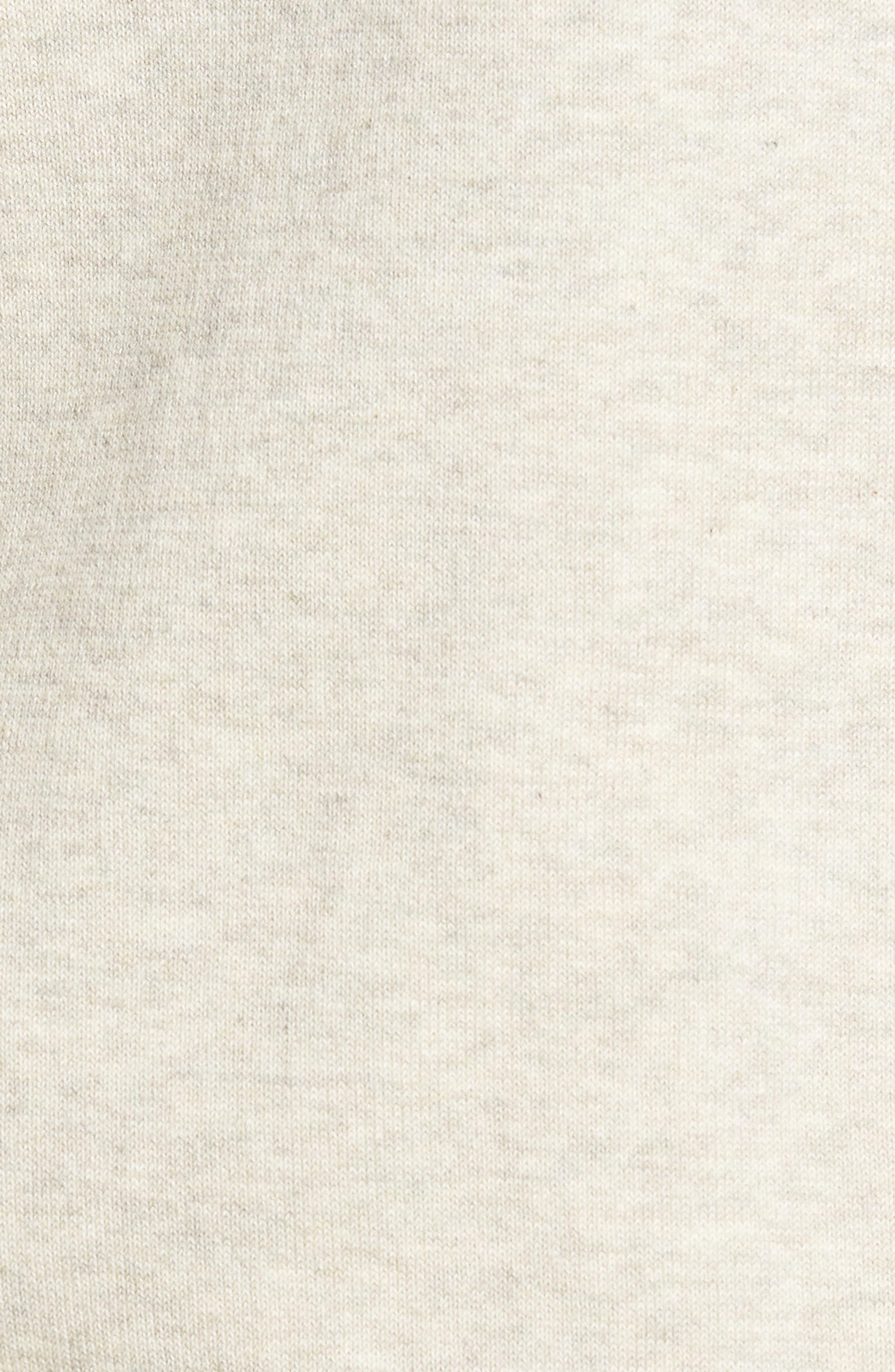 CUTTER & BUCK,                             Lakemont Classic Fit Quarter Zip Sweater,                             Alternate thumbnail 5, color,                             OATMEAL HEATHER