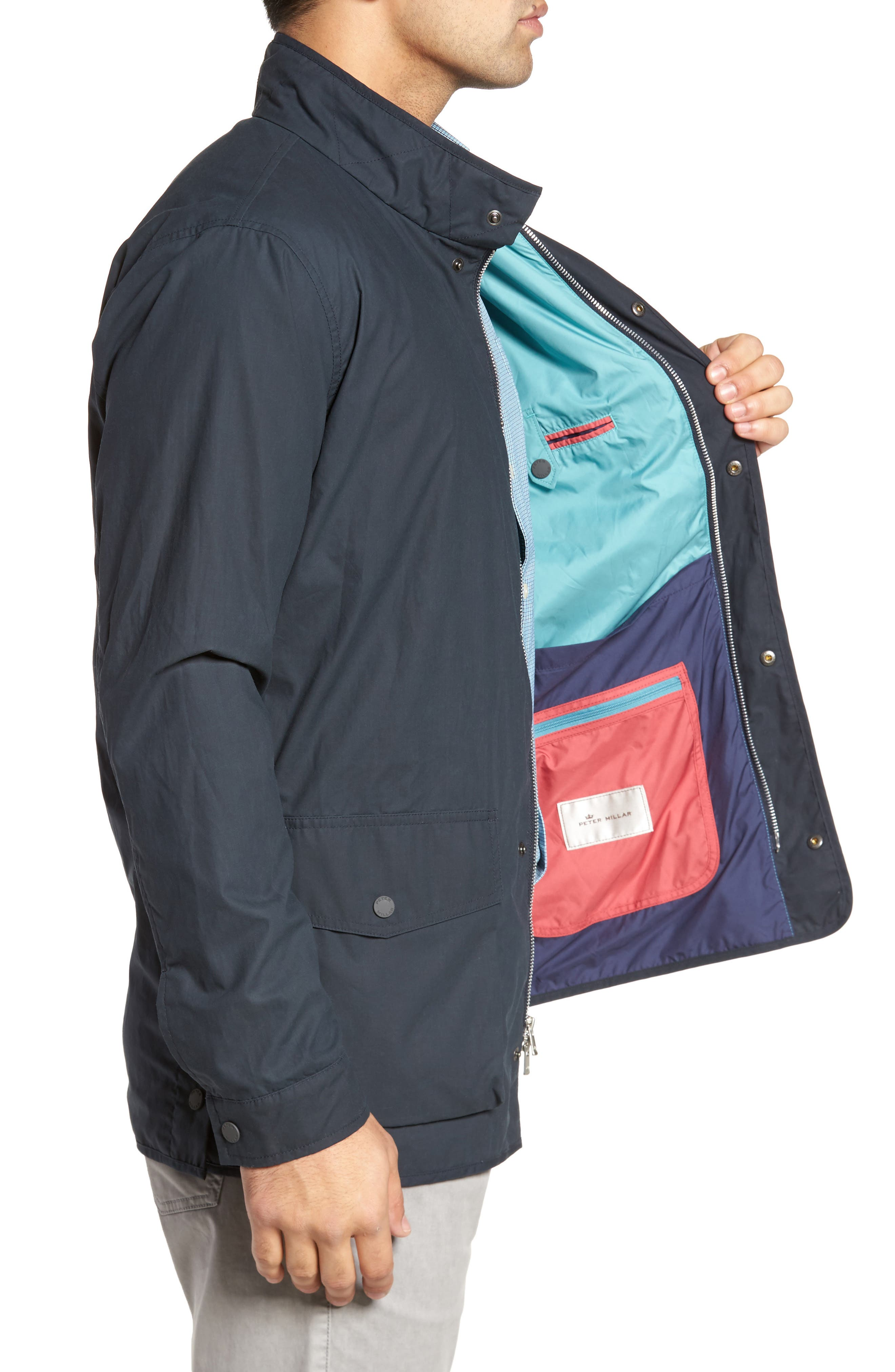 Harrison Wine Country Field Jacket,                             Alternate thumbnail 6, color,