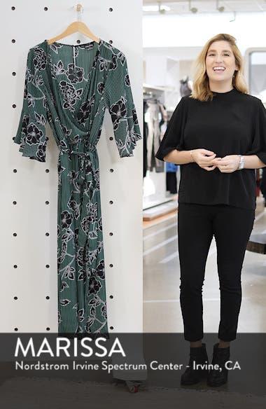 Floral Print Jumpsuit, sales video thumbnail