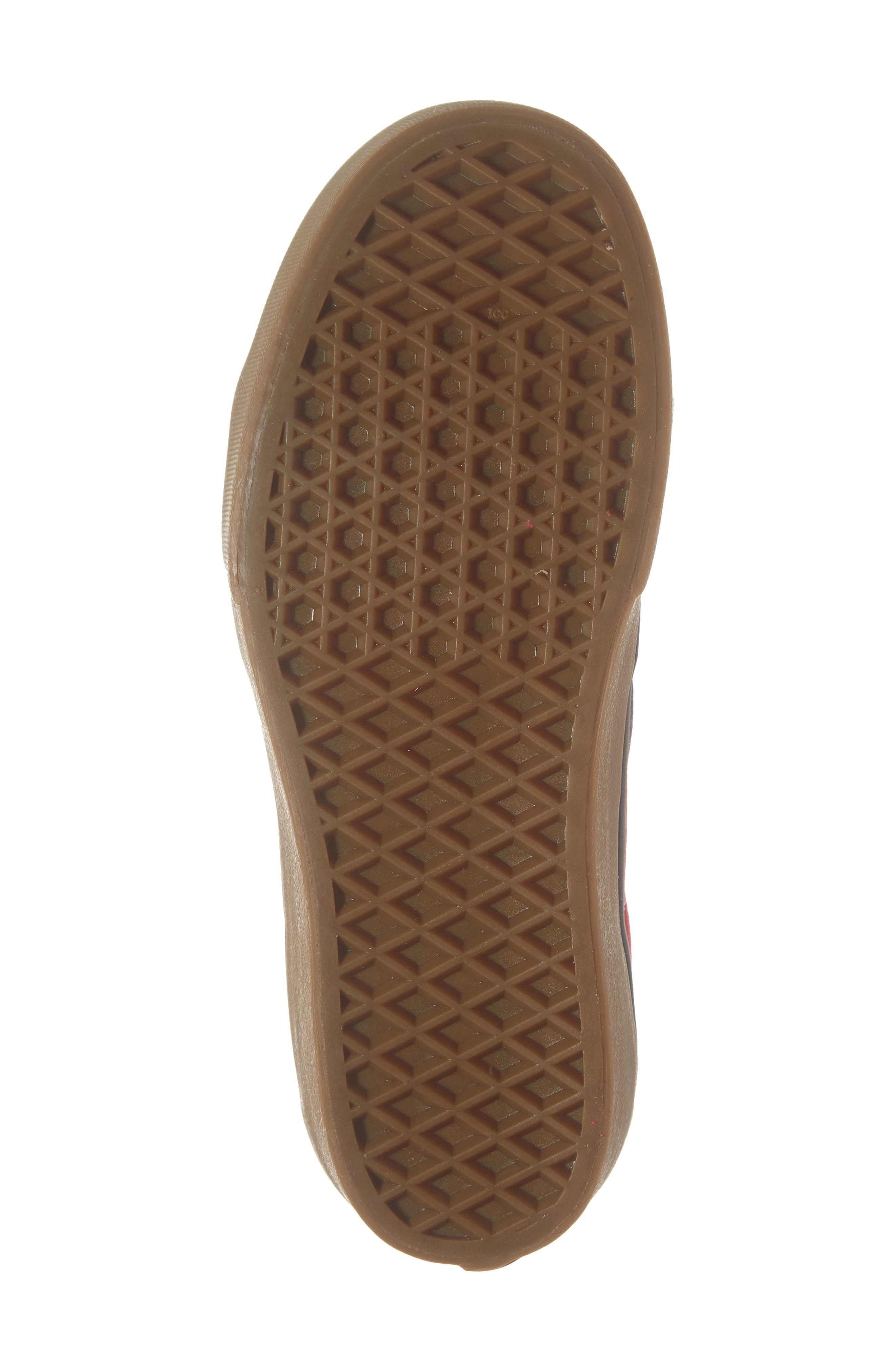 Sk8-Hi Platform Sneaker,                             Alternate thumbnail 6, color,                             SCOOTER/ TRUE WHITE
