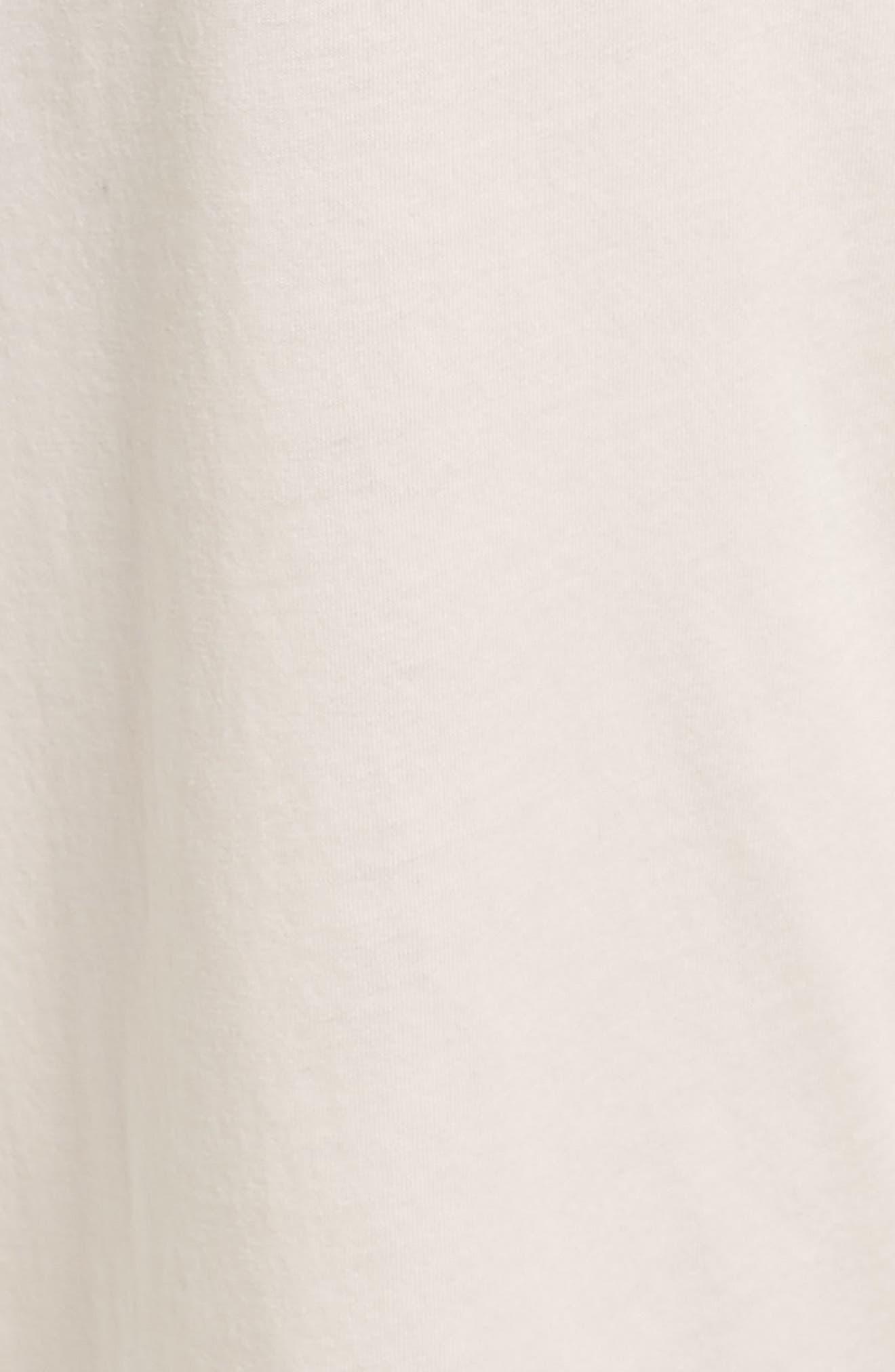 Parisa Crop Pima Cotton Lounge Pants,                             Alternate thumbnail 5, color,