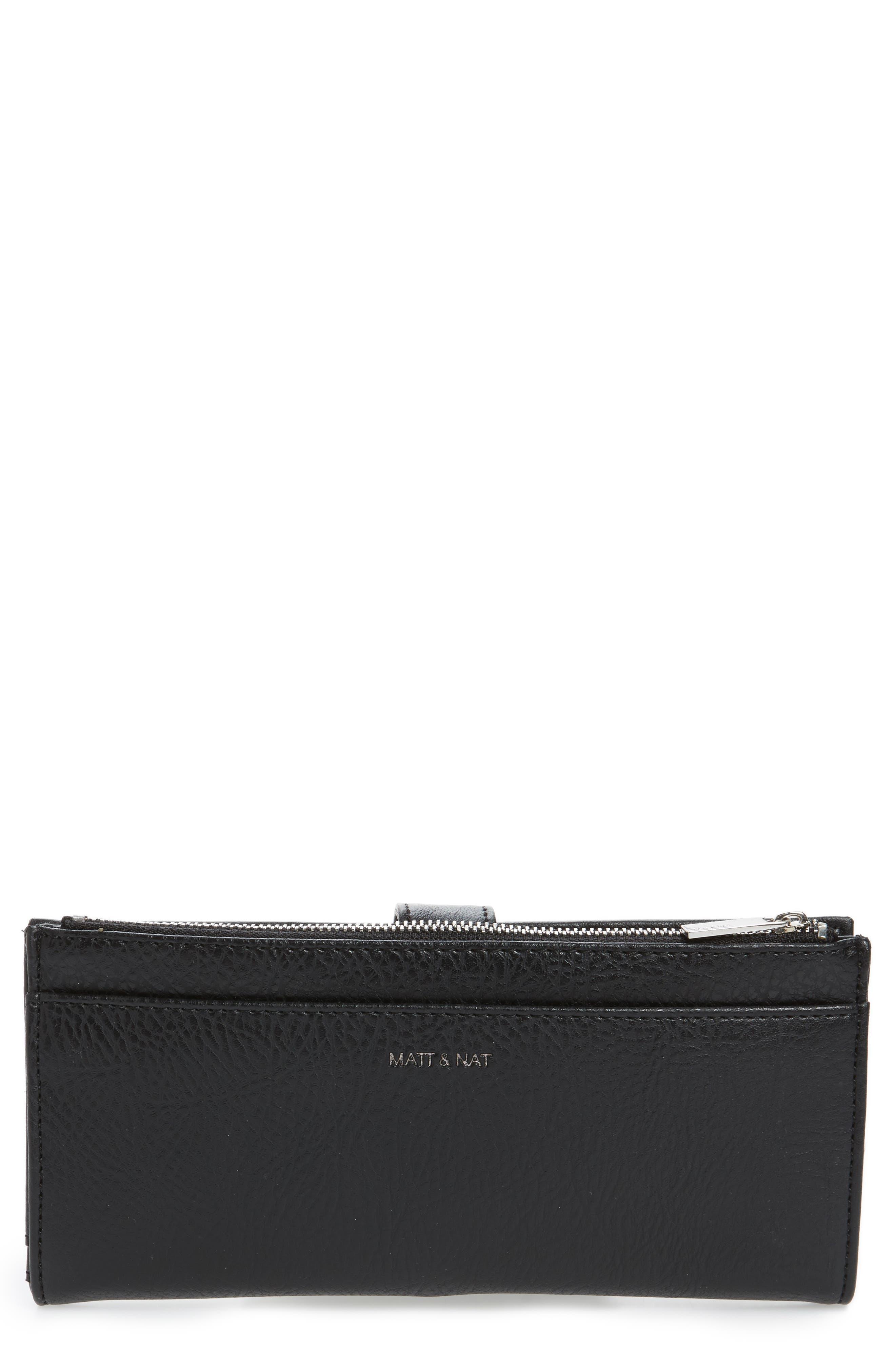Matt & Nat Motiv Faux Leather Continental Wallet -