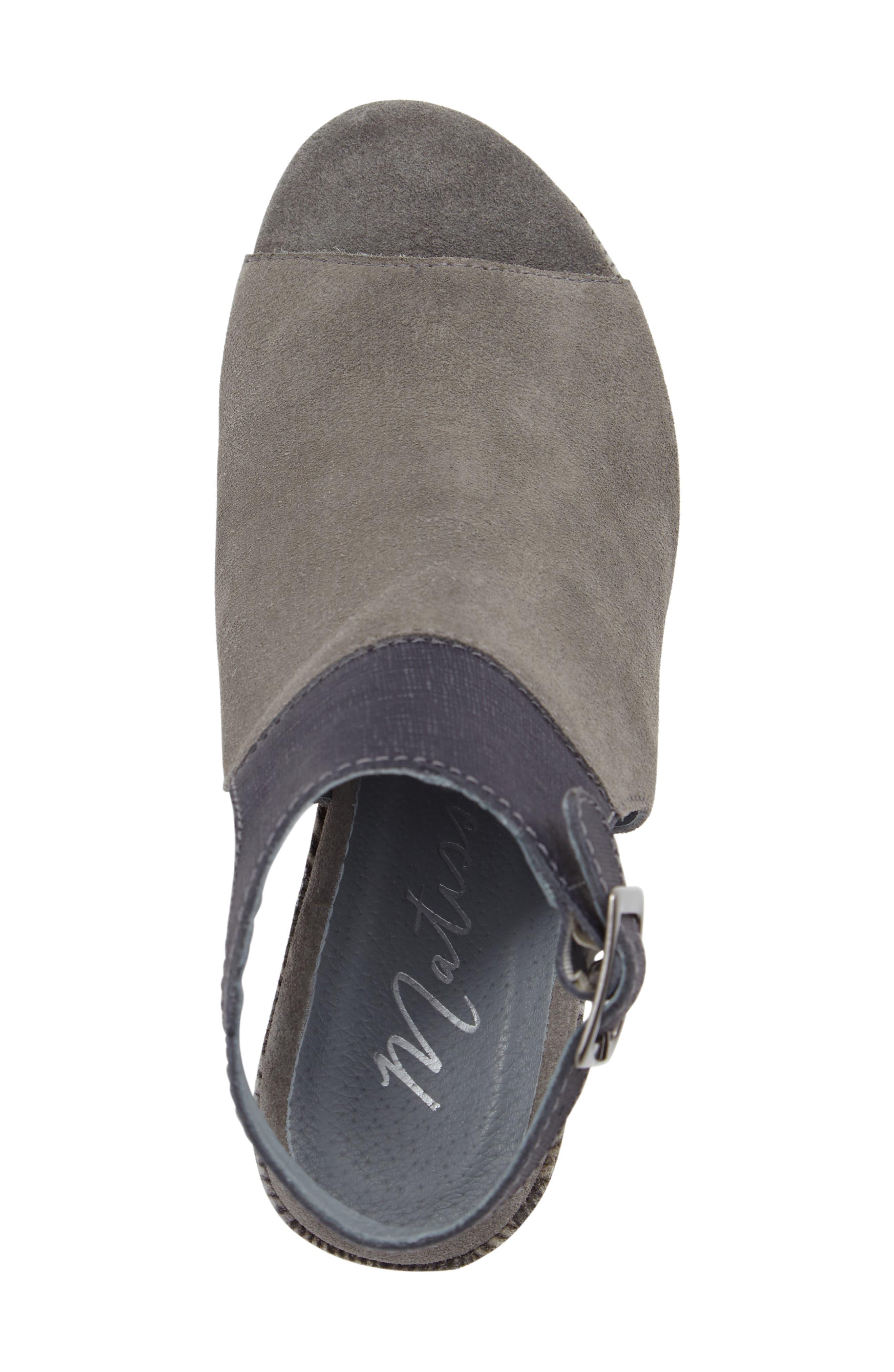 Harlequin Wedge Sandal,                             Alternate thumbnail 5, color,                             029