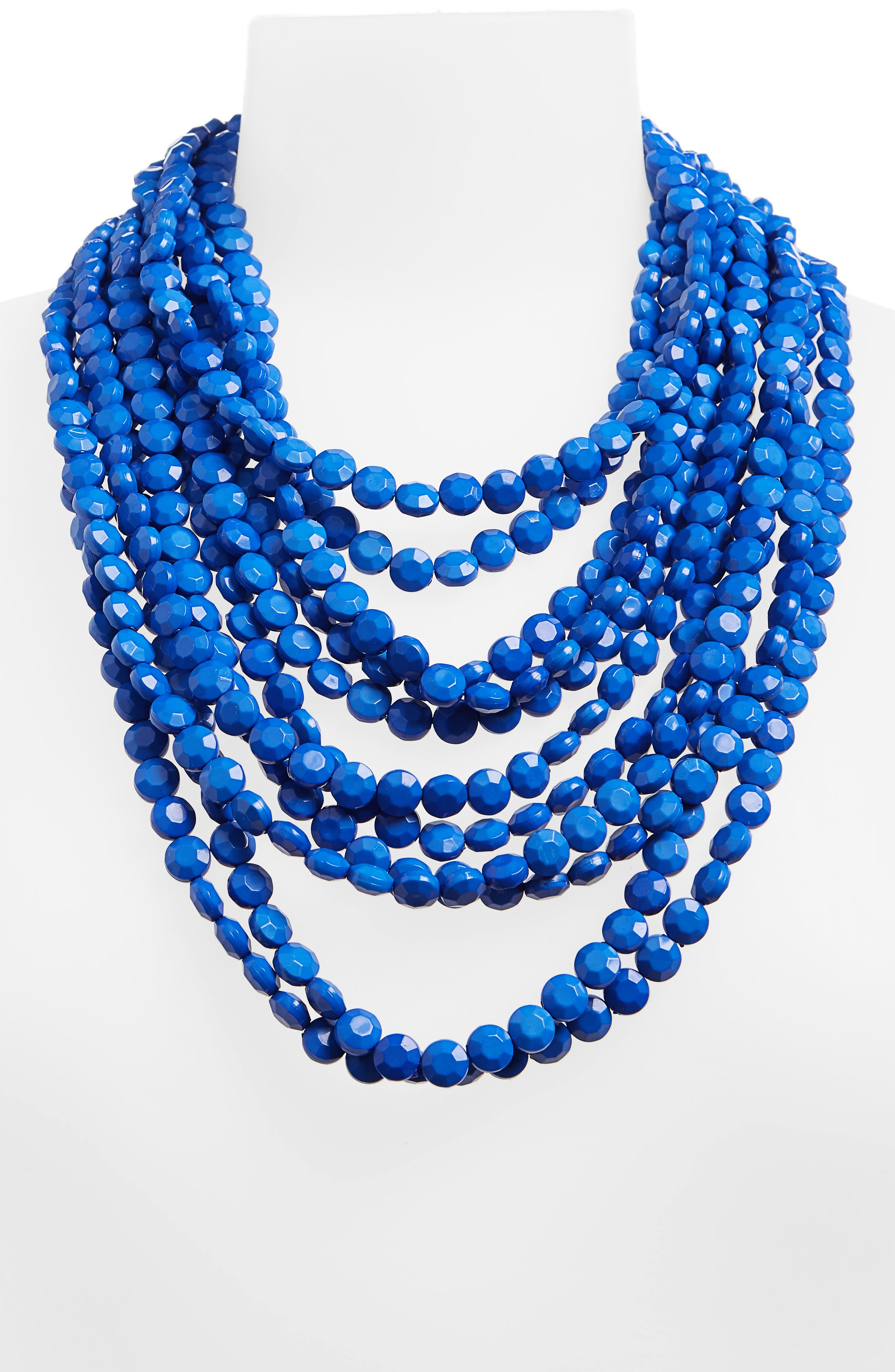 Multilayer Stone Necklace,                             Alternate thumbnail 2, color,                             400