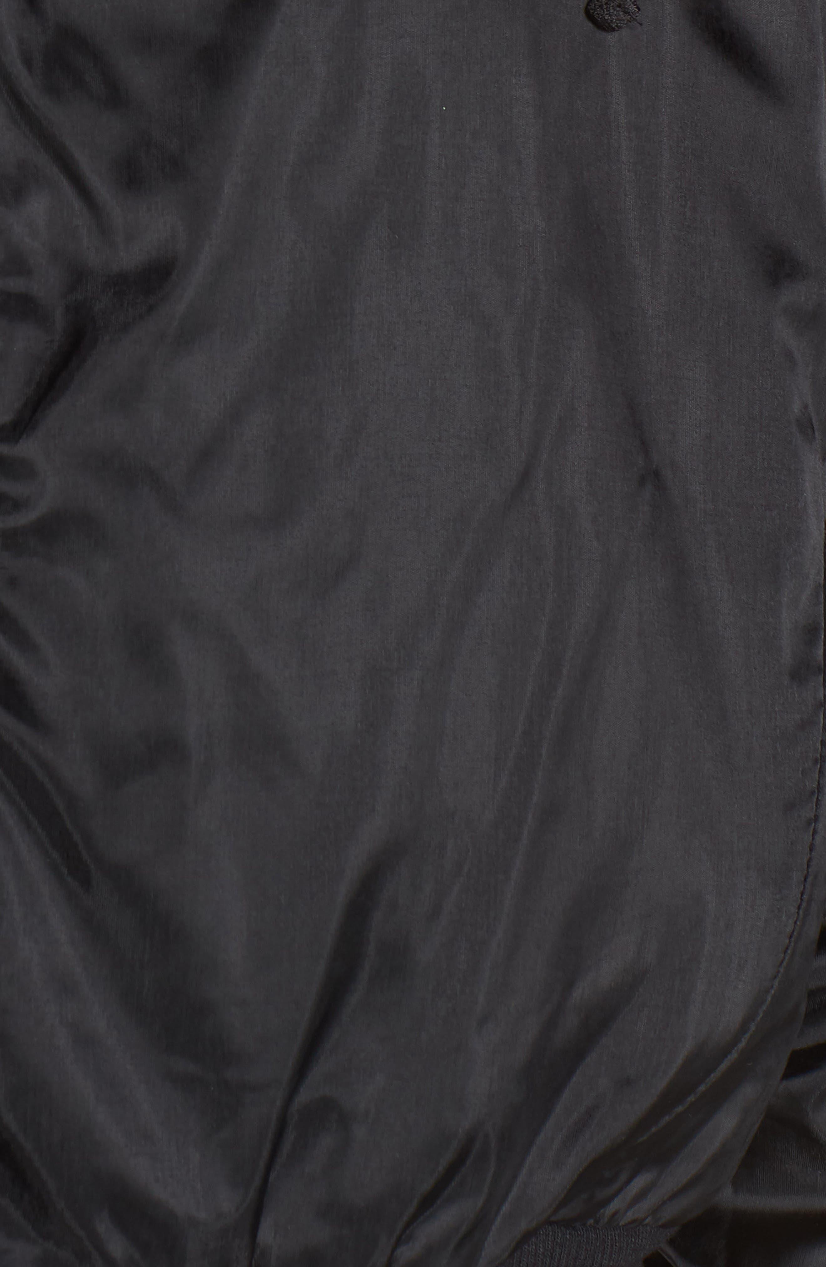 Aqua Jacket,                             Alternate thumbnail 7, color,                             BLACK