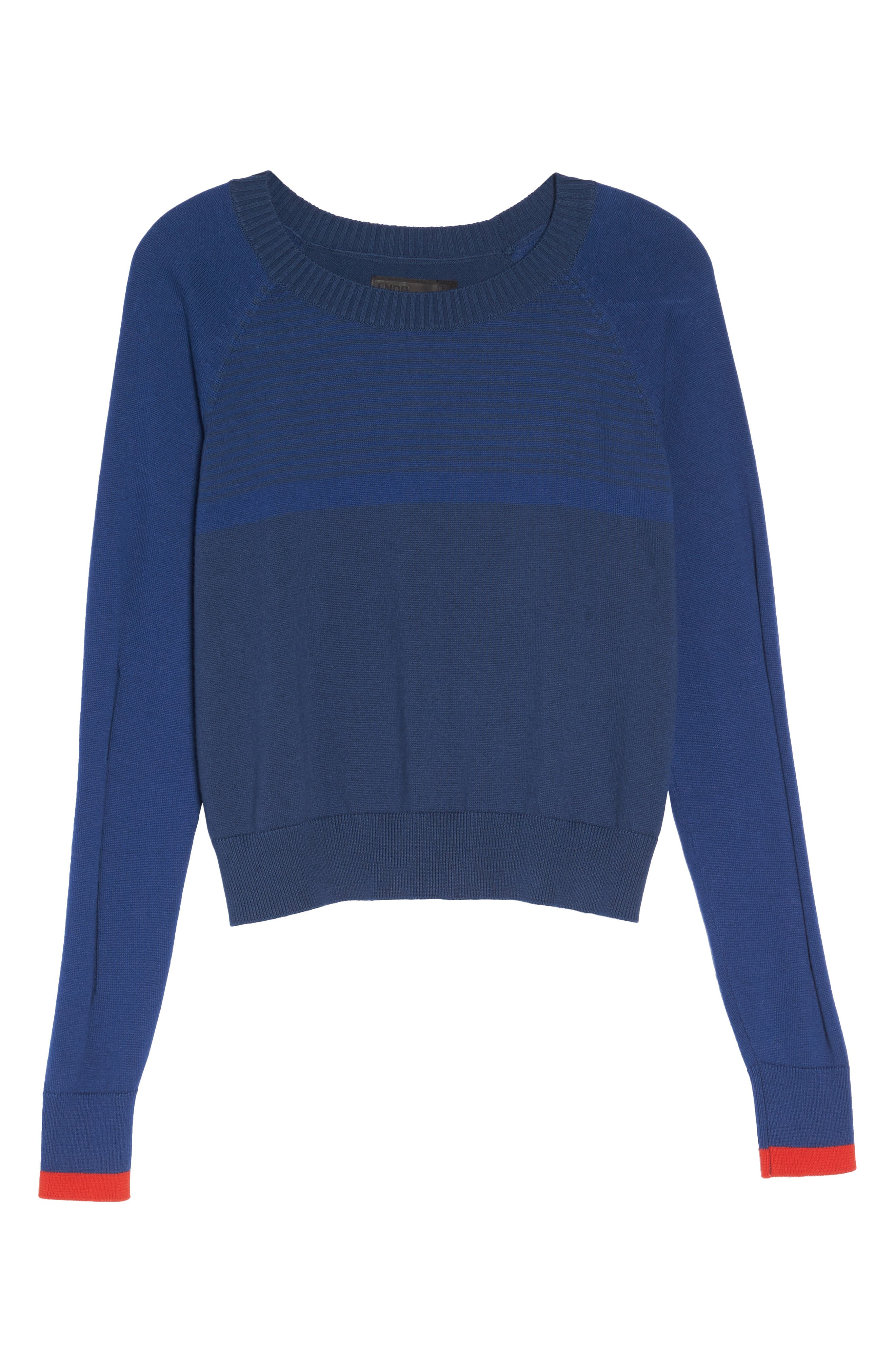 Prism Cropped Sweater,                             Alternate thumbnail 7, color,                             400