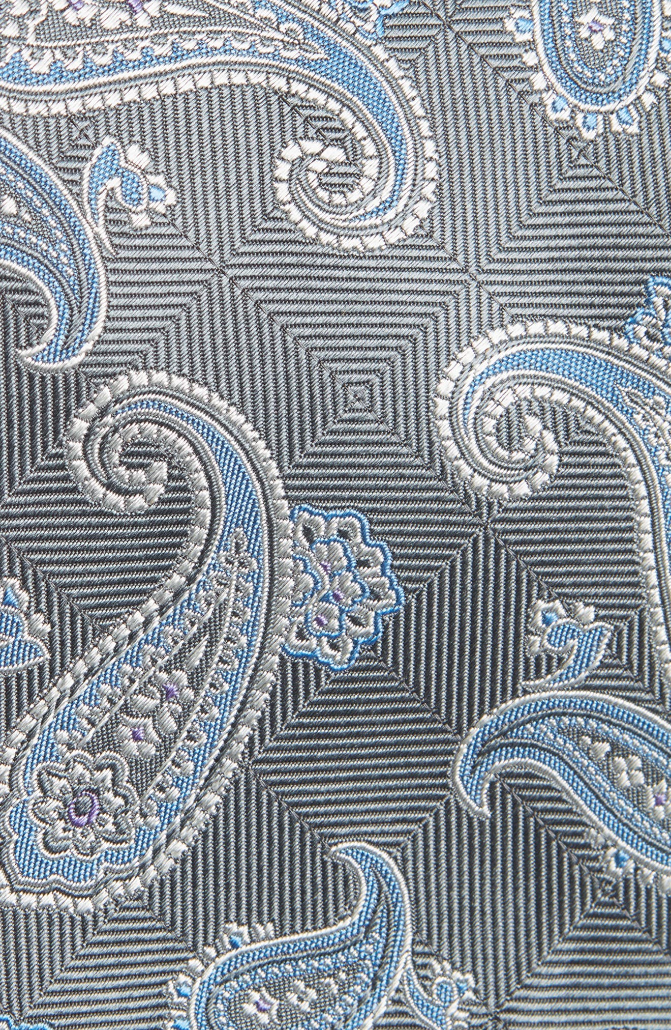 Paisley Silk Tie,                             Alternate thumbnail 2, color,                             020