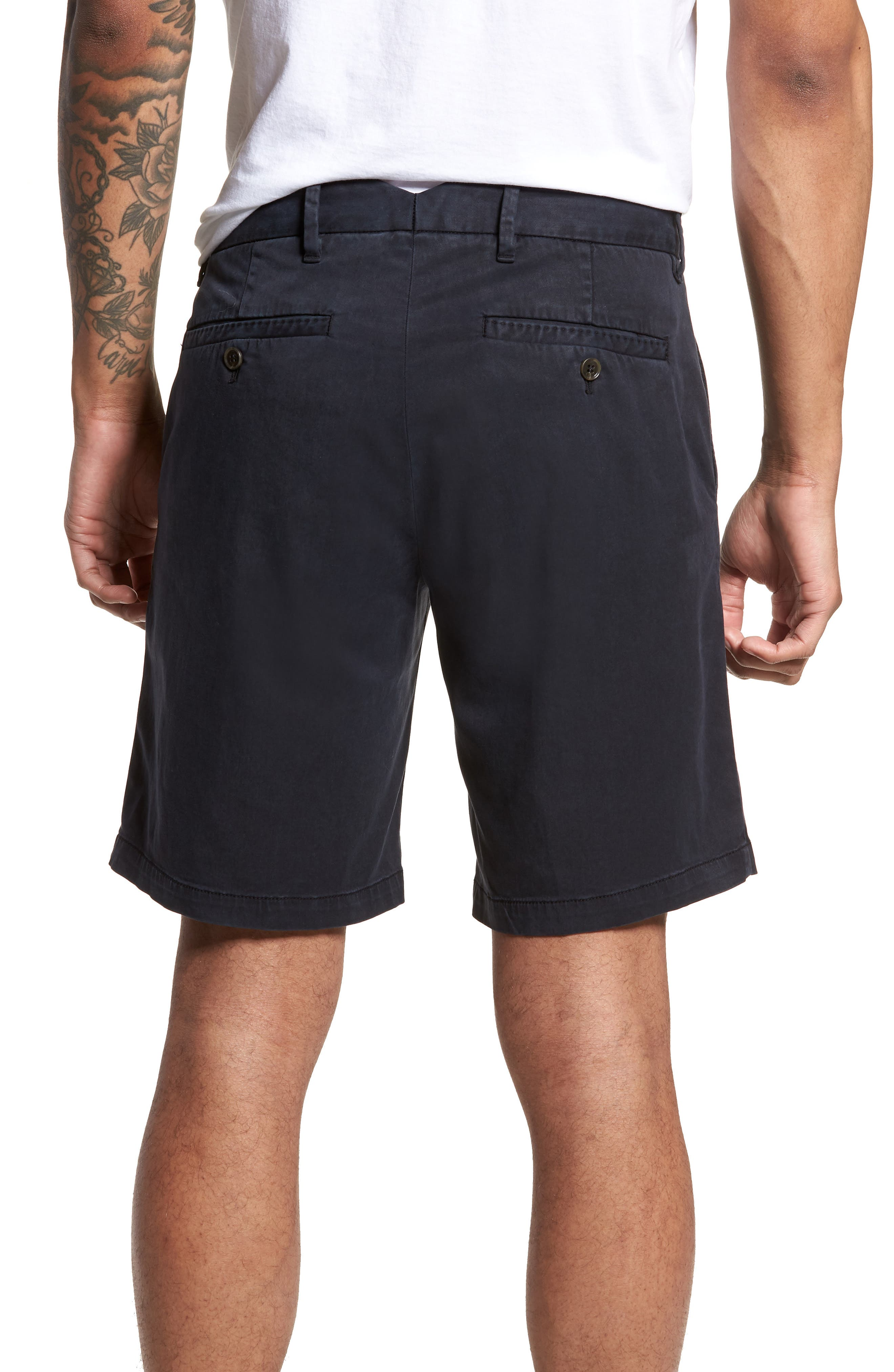 Catalpa Chino Shorts,                             Alternate thumbnail 2, color,                             NAVY