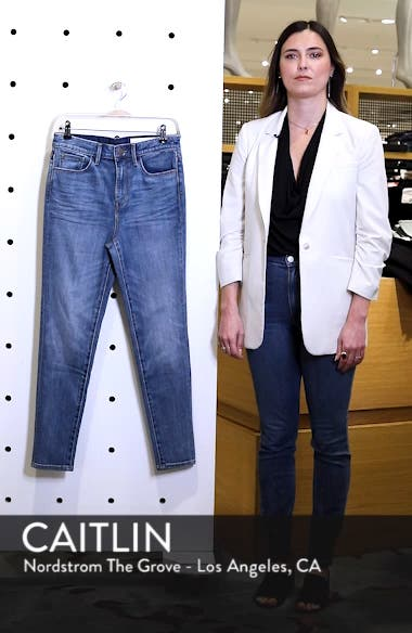Charity High Waist Skinny Ankle Jeans, sales video thumbnail