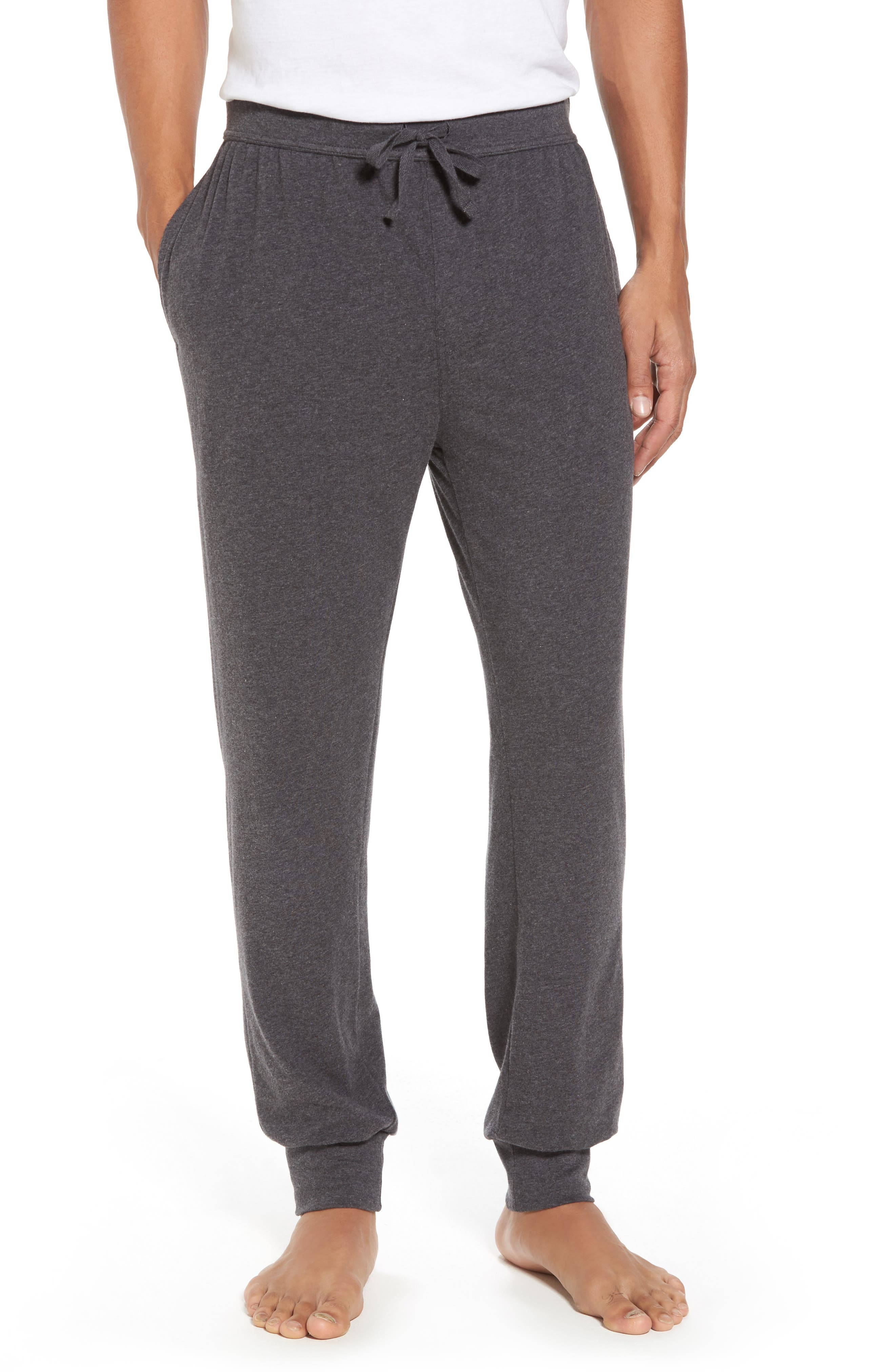 Stretch Cotton Lounge Pants,                             Main thumbnail 1, color,                             021