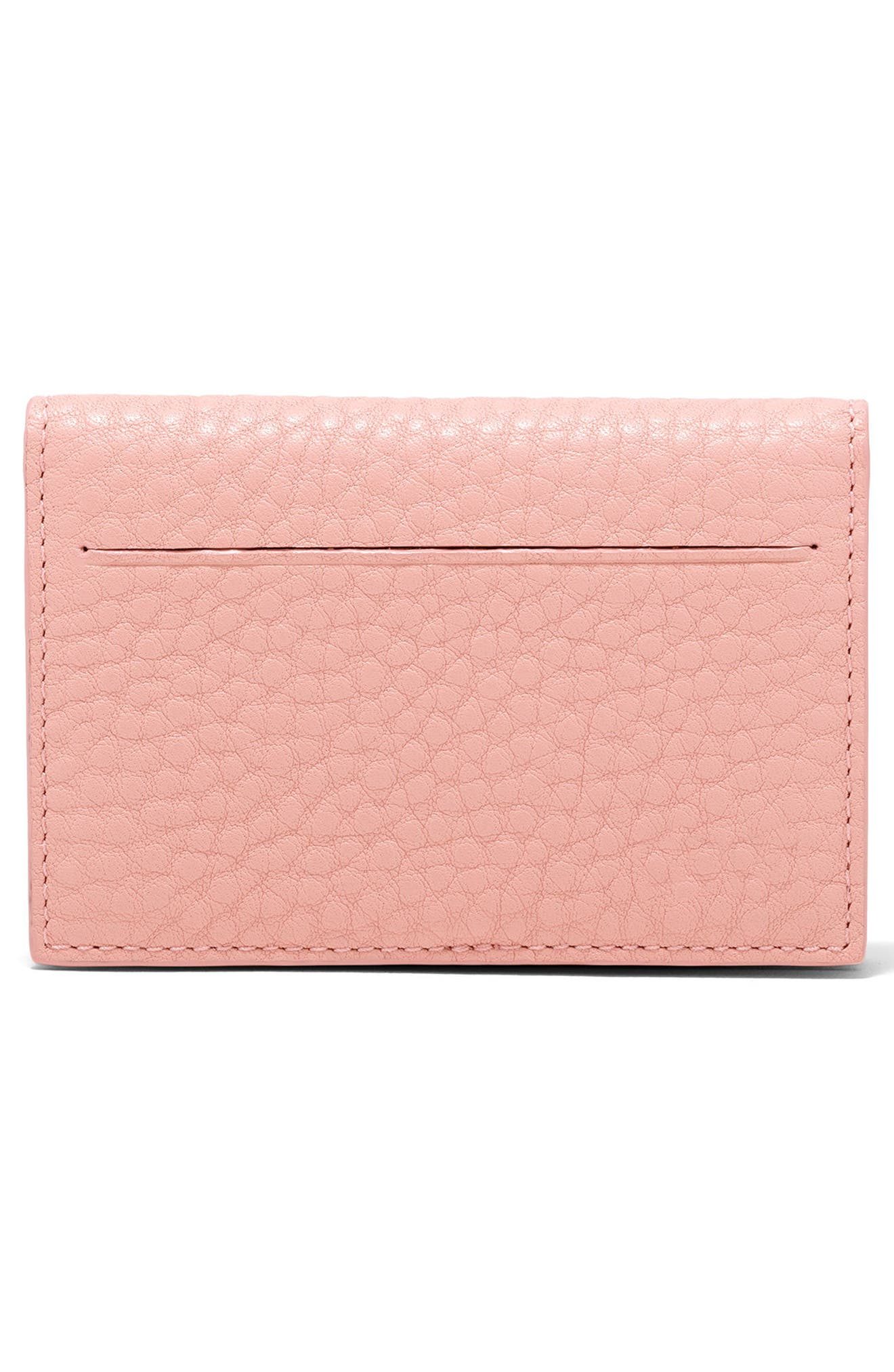 Accordion Leather Card Case,                             Alternate thumbnail 17, color,