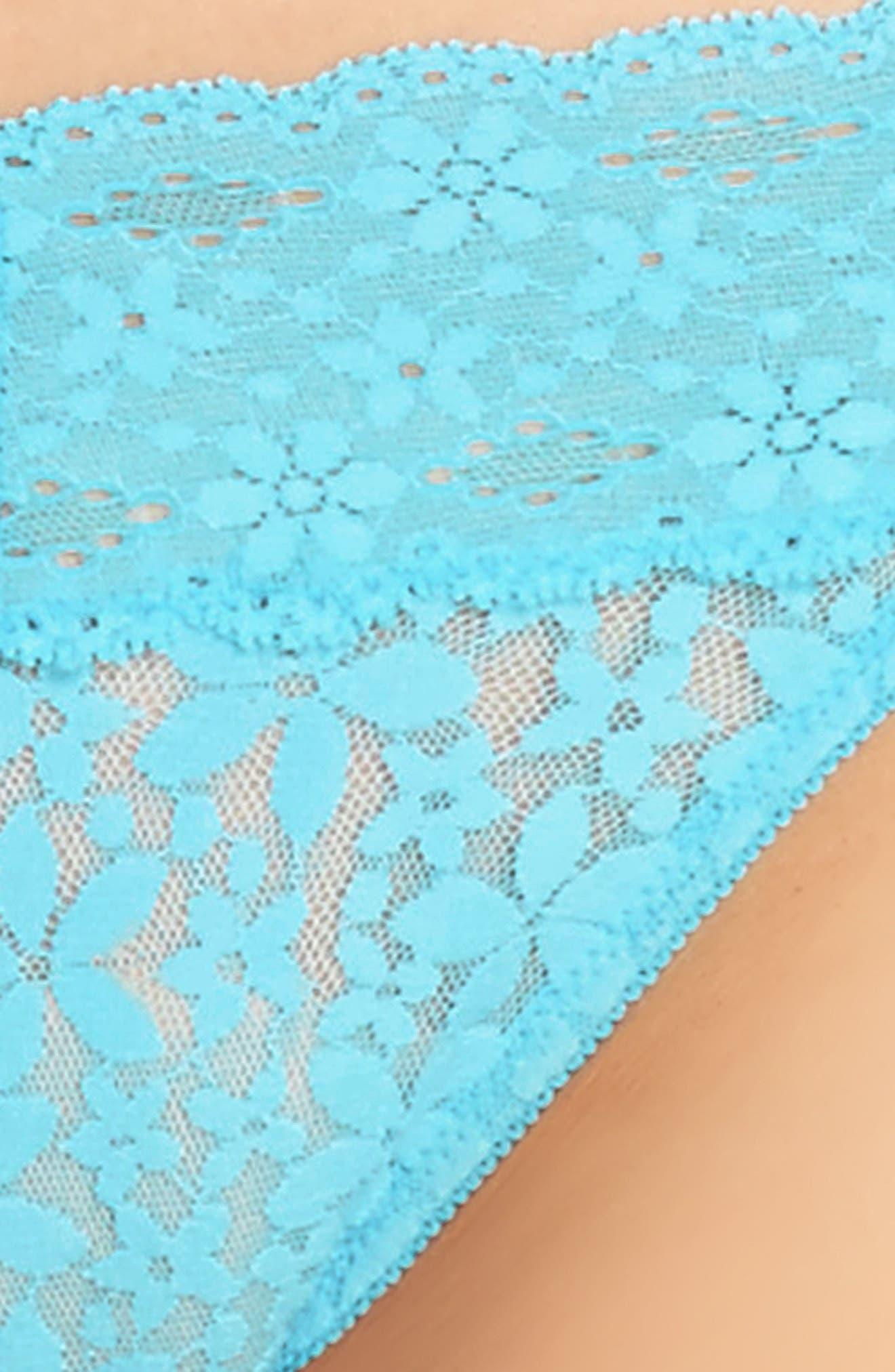 Halo Lace Thong,                             Alternate thumbnail 18, color,