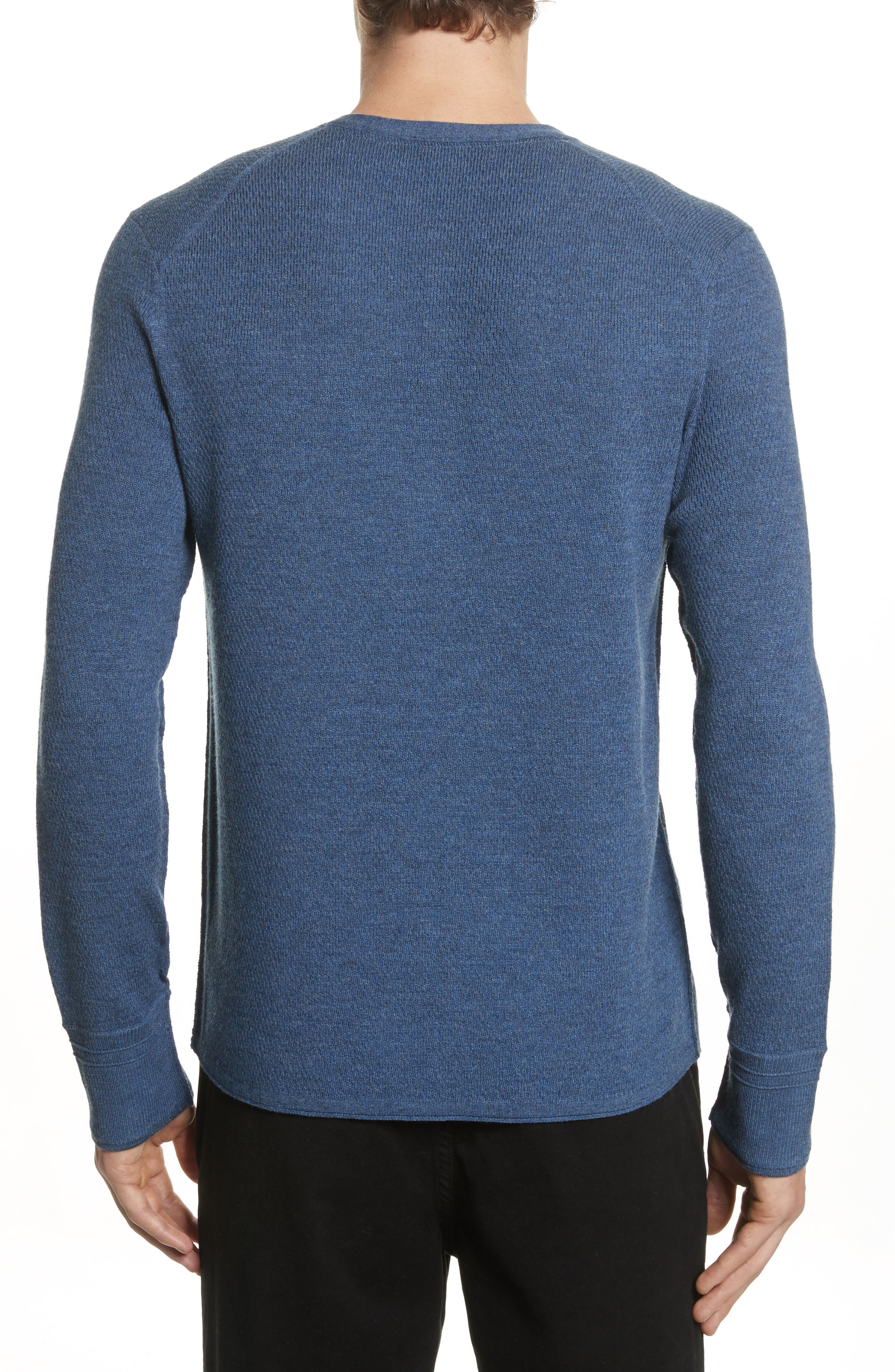 Gregory Merino Wool Blend Thermal Henley,                             Alternate thumbnail 2, color,
