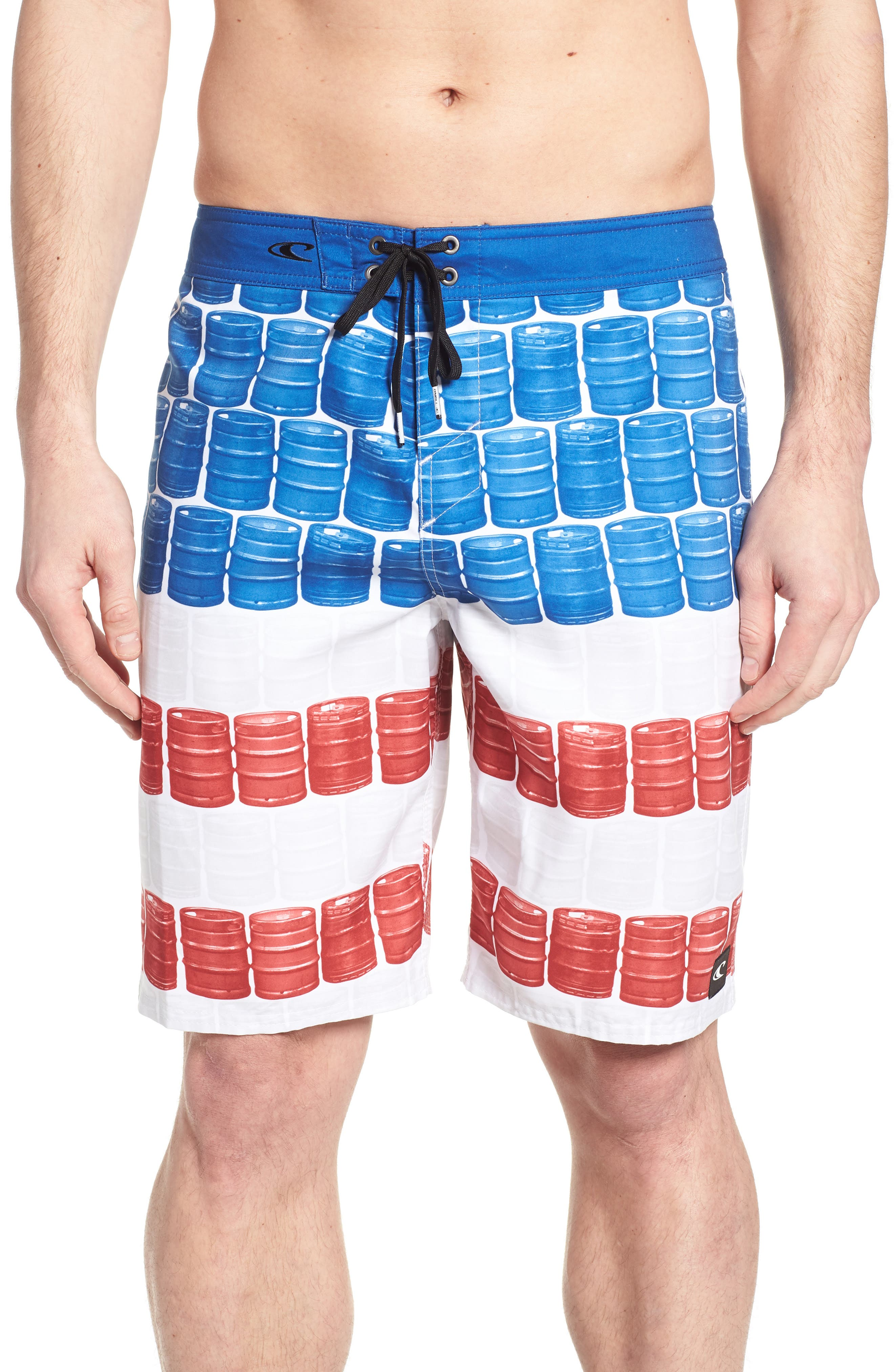 Kegleg Board Shorts,                             Main thumbnail 1, color,                             840