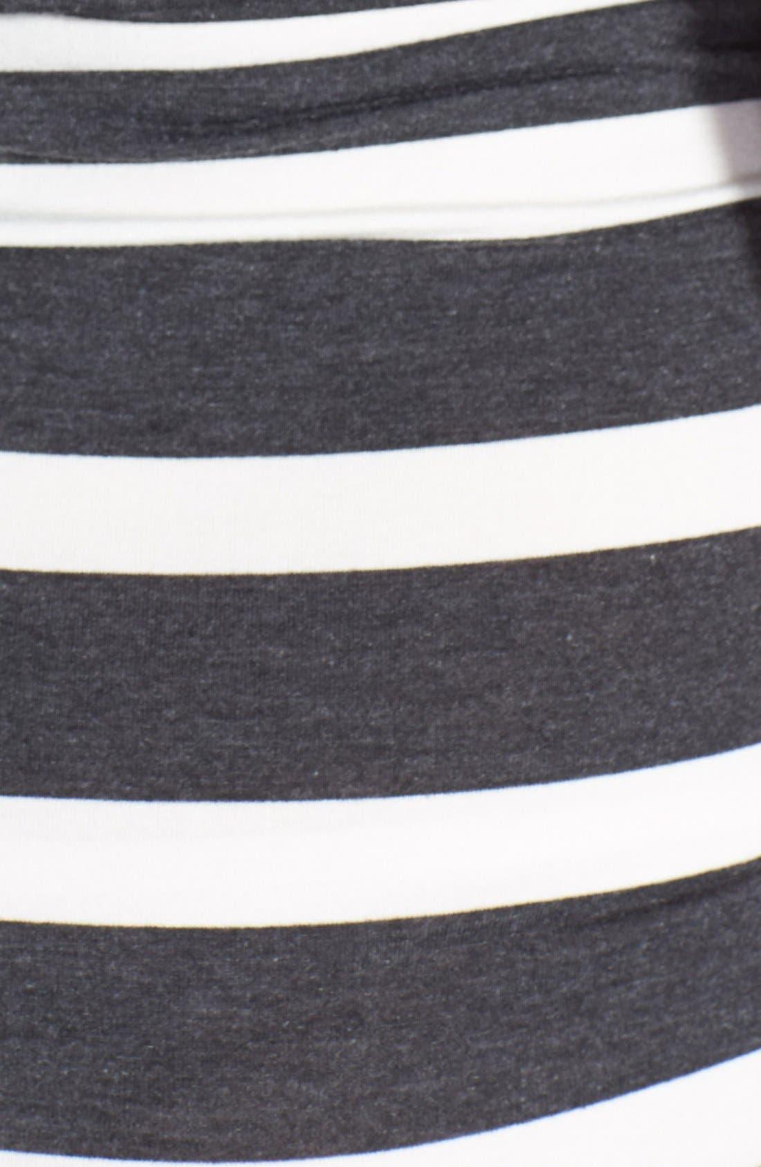 'Heidi' Maxi Maternity Dress,                             Alternate thumbnail 8, color,