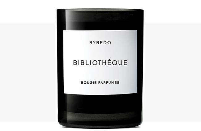 Explore BYREDO candles and home scents.