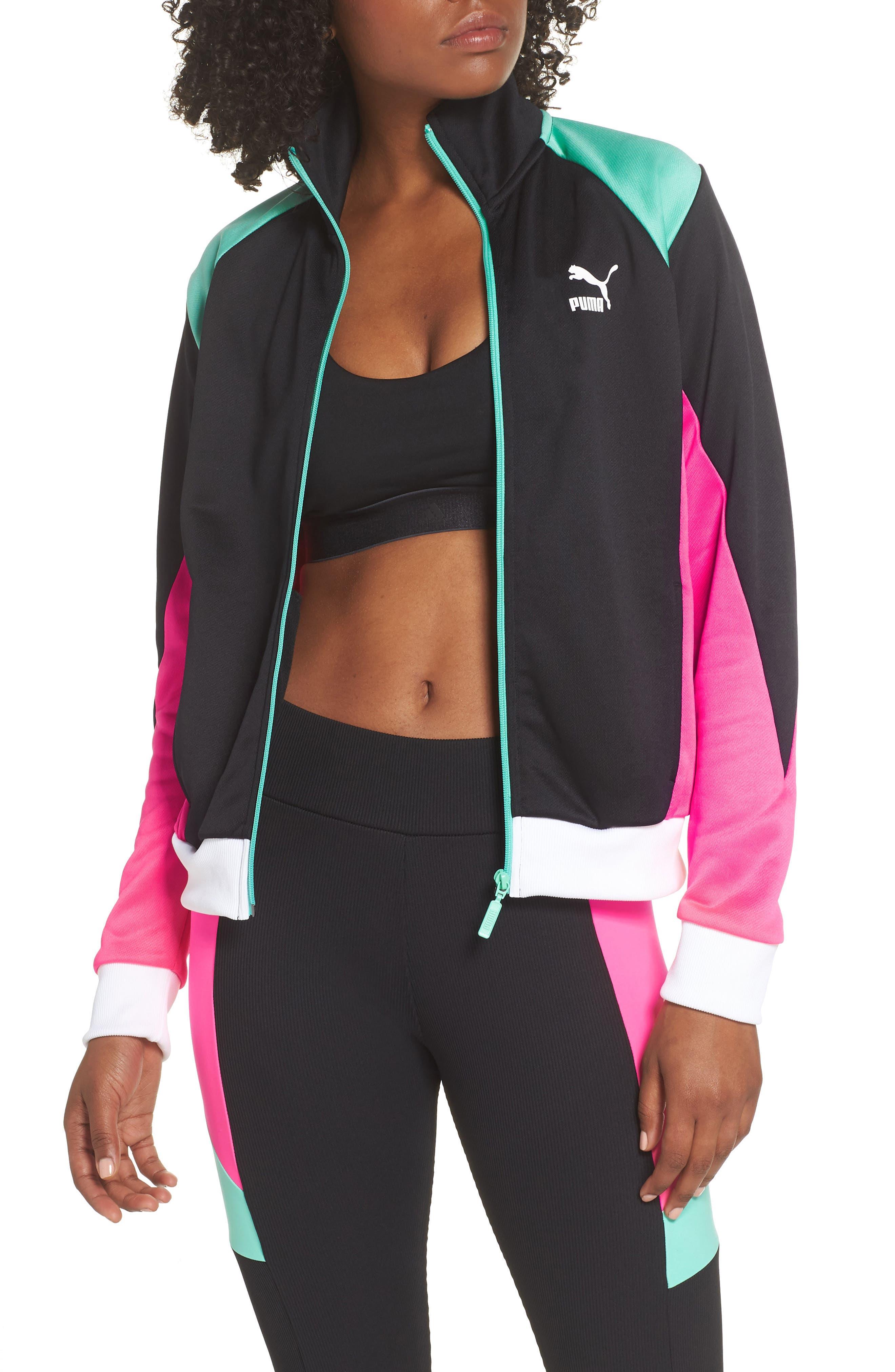 Retro Track Jacket,                         Main,                         color, 001