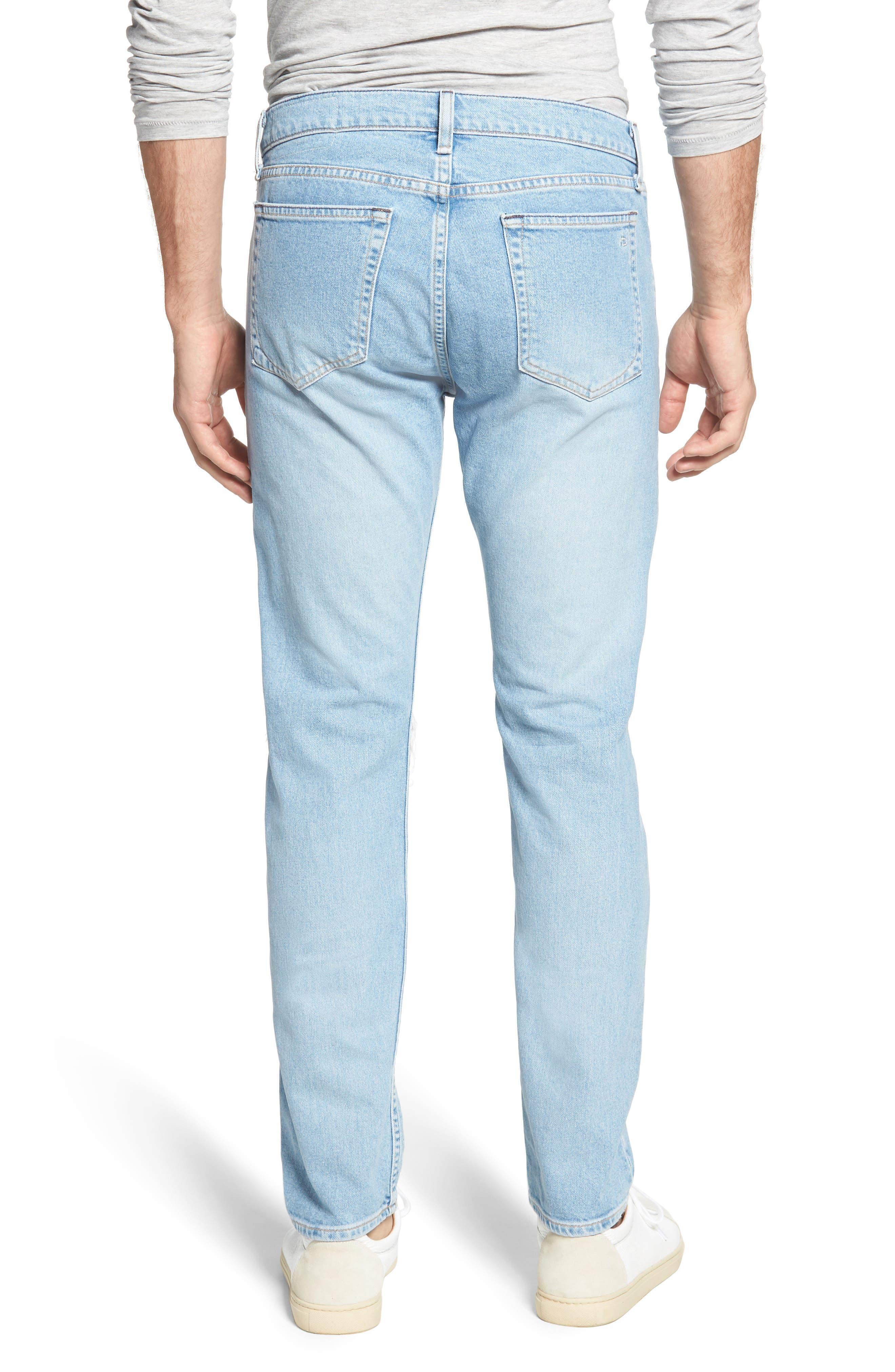 Fit 2 Slim Fit Jeans,                             Alternate thumbnail 2, color,                             MONTAUK W/ HOLE