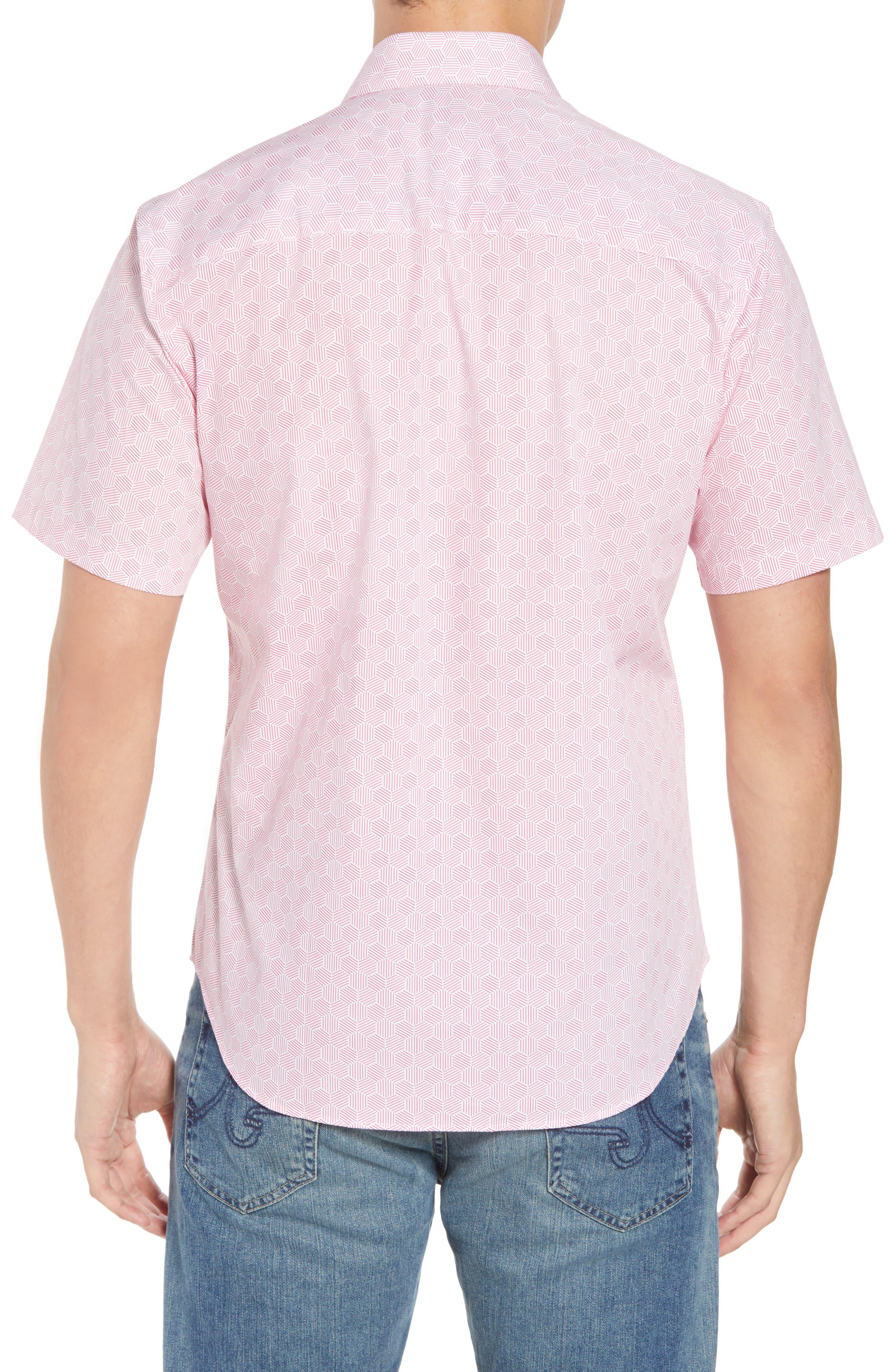 Averon Regular Fit Print Sport Shirt,                             Alternate thumbnail 2, color,                             650