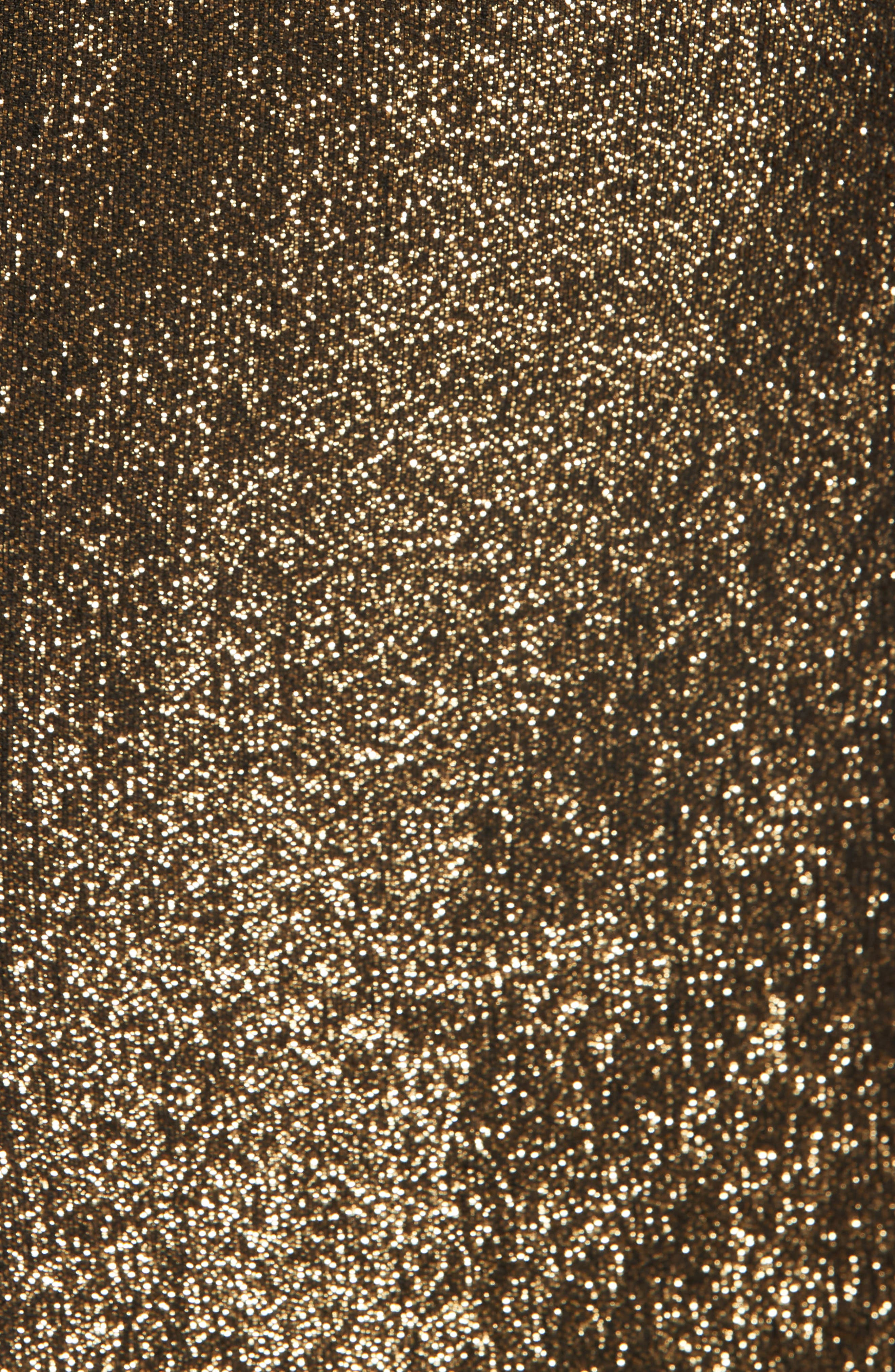 Robert Notch Collar Metallic Blazer,                             Alternate thumbnail 6, color,                             001