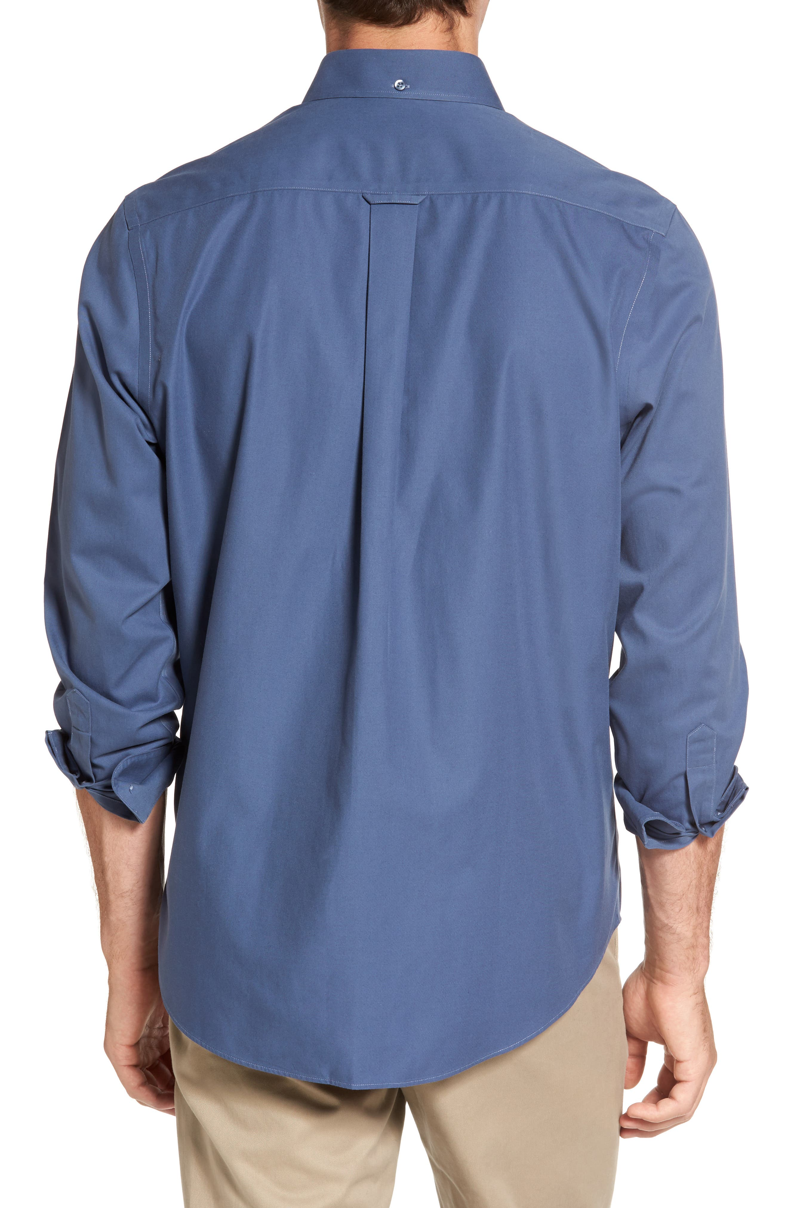 Smartcare<sup>™</sup> Traditional Fit Twill Boat Shirt,                             Alternate thumbnail 94, color,