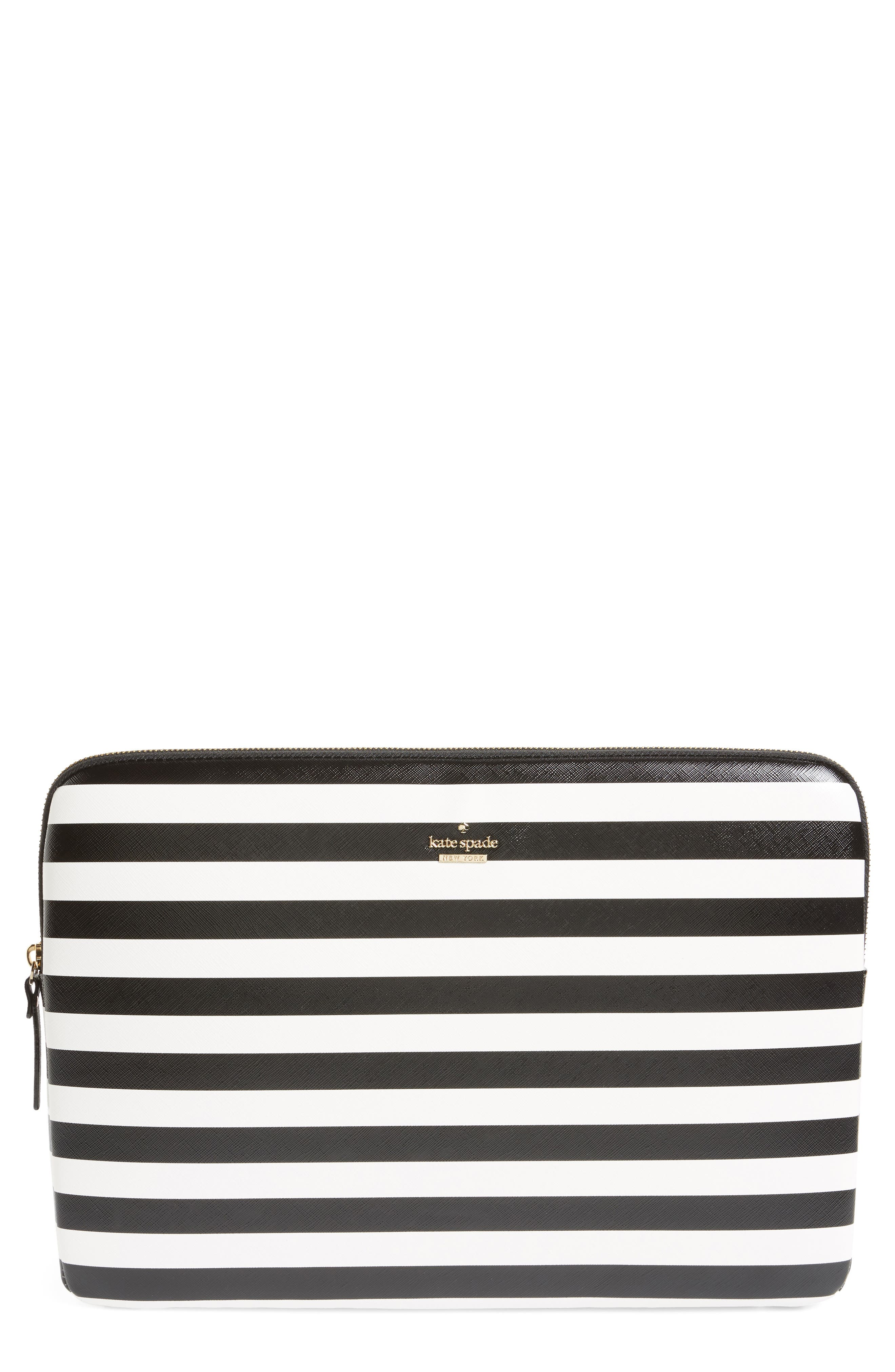 stripe universal laptop sleeve,                             Main thumbnail 1, color,                             017
