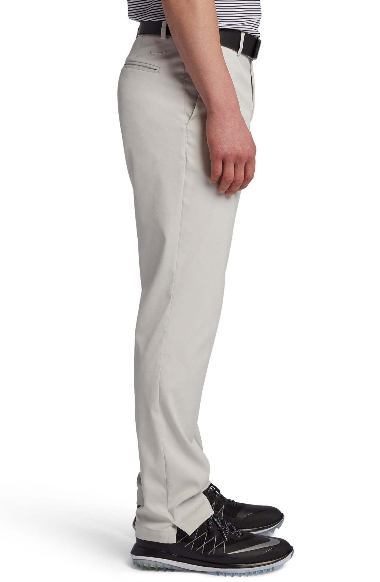 Flat Front Dri-FIT Tech Golf Pants,                             Alternate thumbnail 3, color,                             LIGHT BONE/ LIGHT BONE