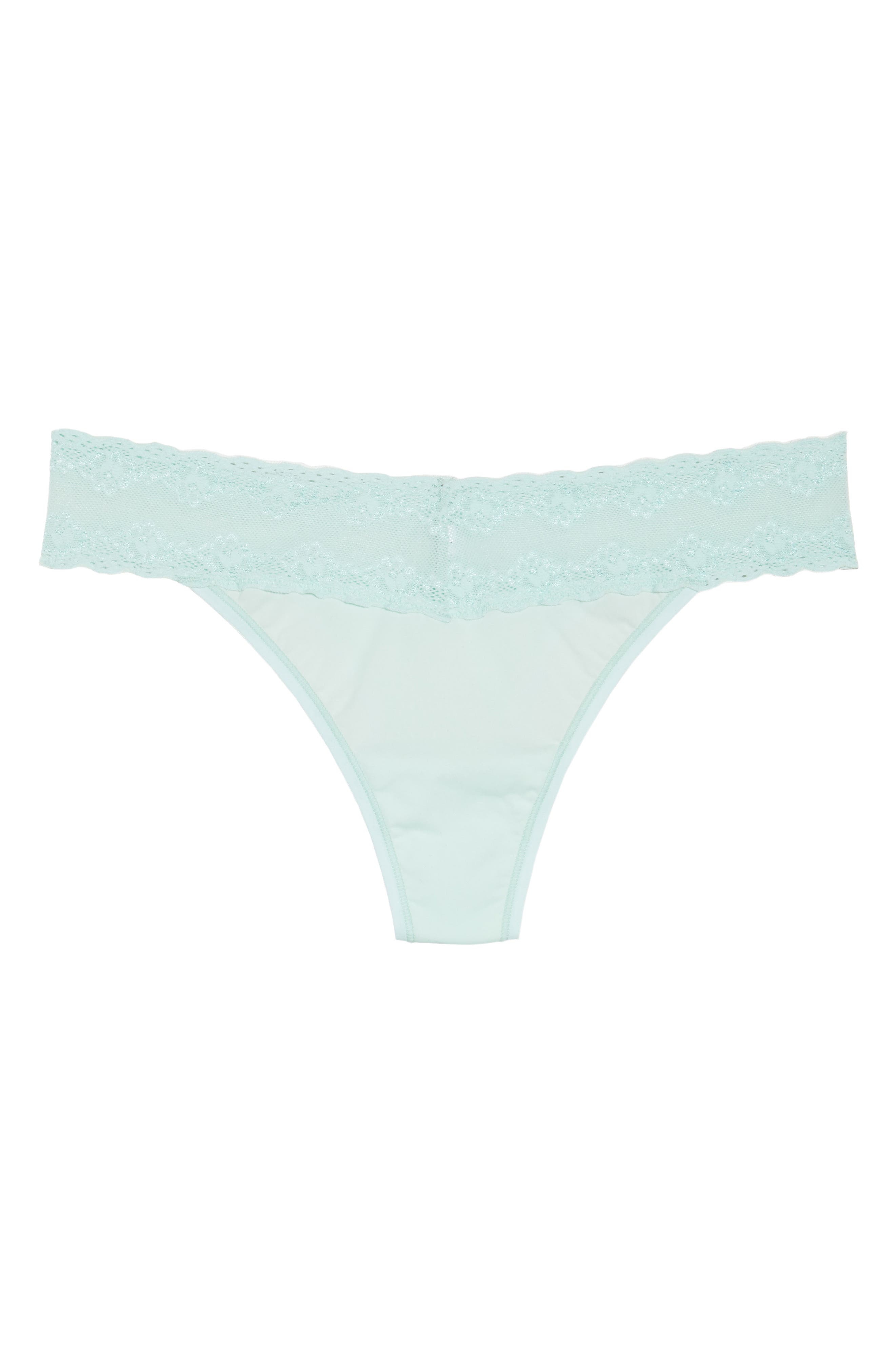 Bliss Perfection Thong,                             Alternate thumbnail 393, color,