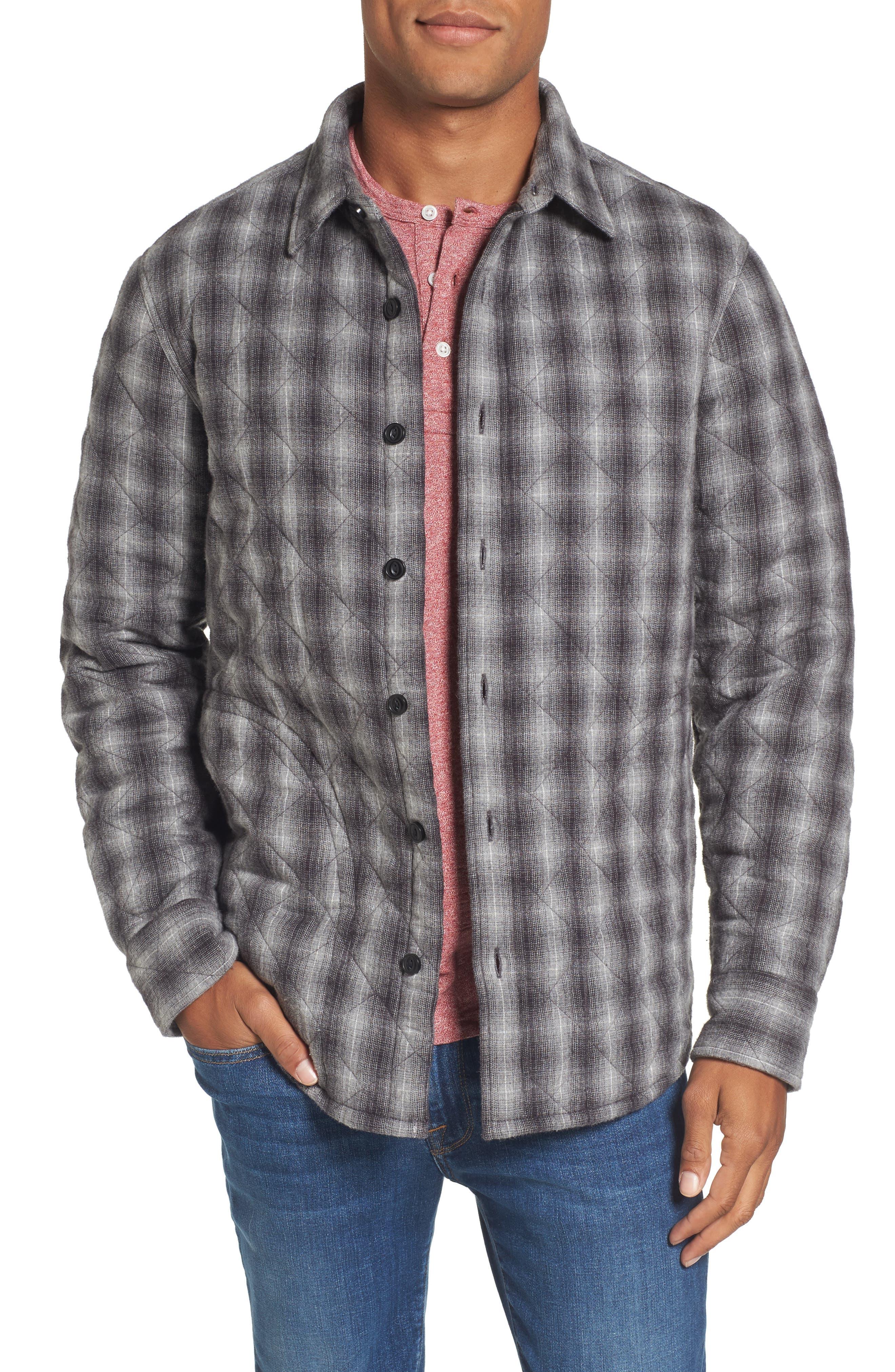 Quilted Shirt Jacket,                             Main thumbnail 1, color,