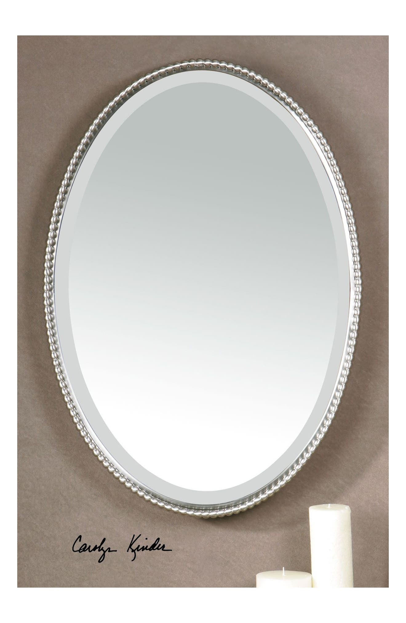 'Sherise' Oval Mirror,                             Alternate thumbnail 3, color,                             040