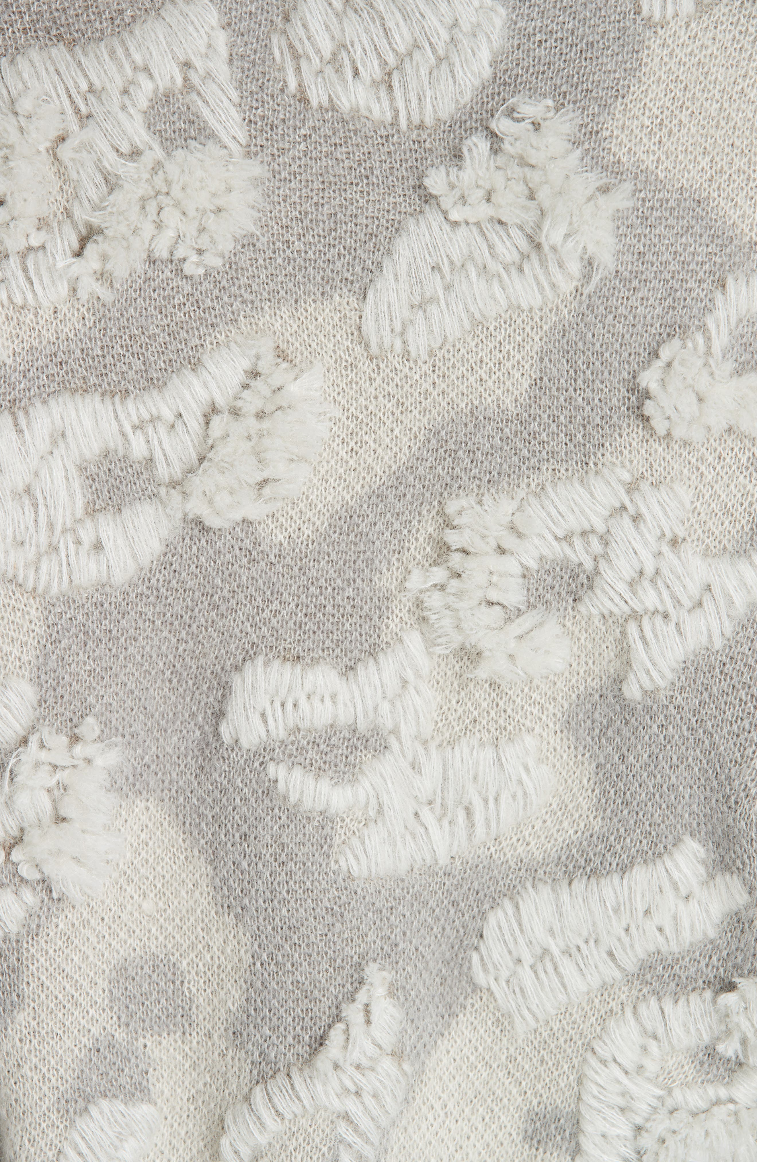 RAG & BONE,                             Embroidered Leopard Spot Sweater,                             Alternate thumbnail 5, color,                             900