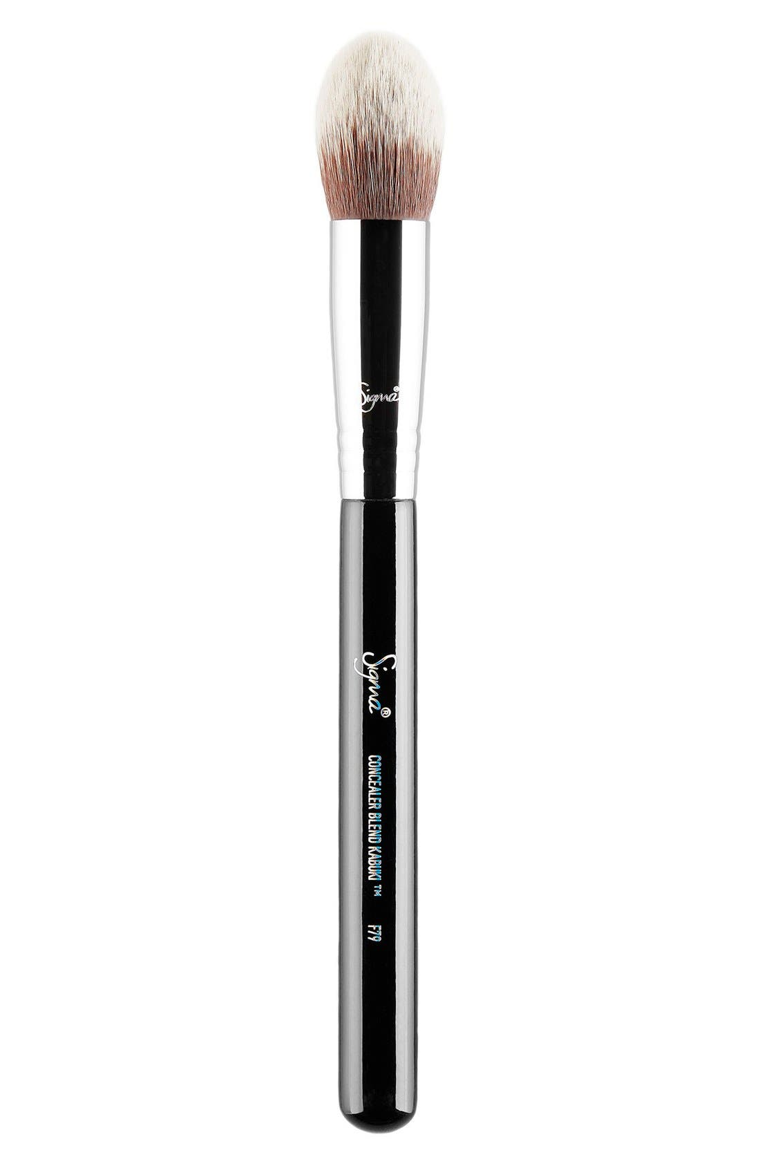 F79 Concealer Blend Kabuki Brush,                             Main thumbnail 1, color,                             NO COLOR