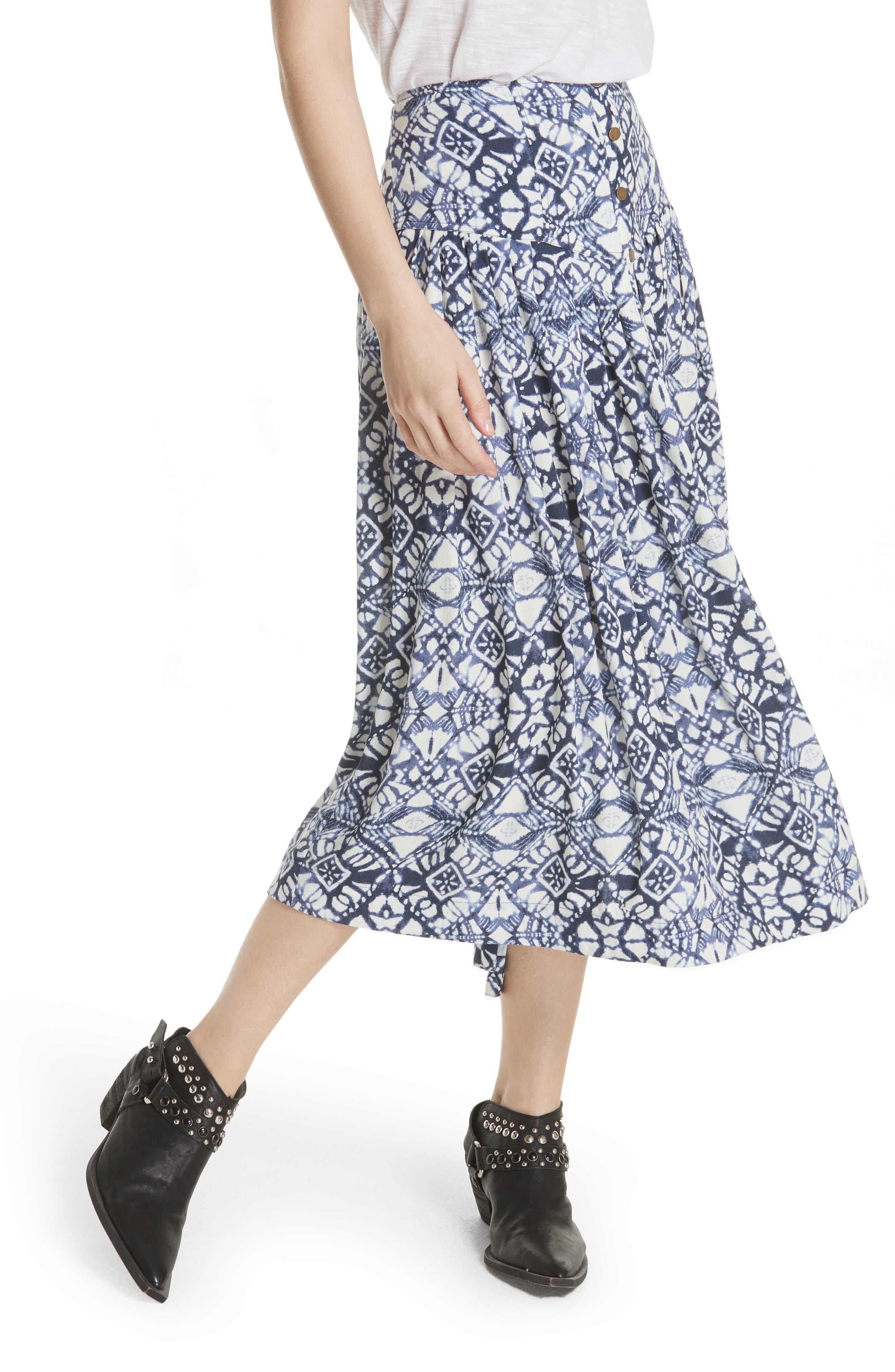Lovers Dream Midi Skirt,                             Main thumbnail 1, color,                             401