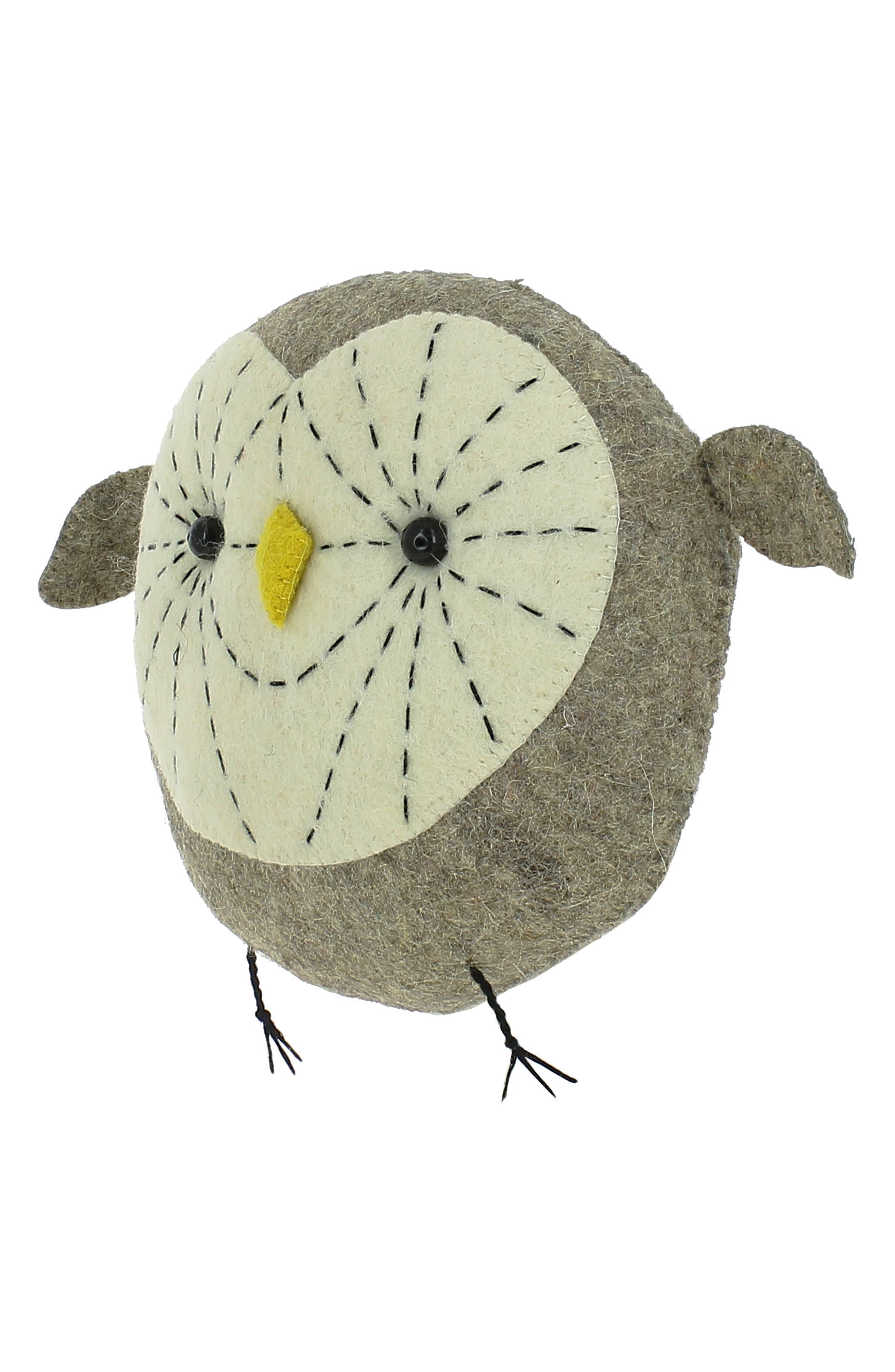 Mini Tootsie Owl Wall Art,                             Alternate thumbnail 2, color,                             020