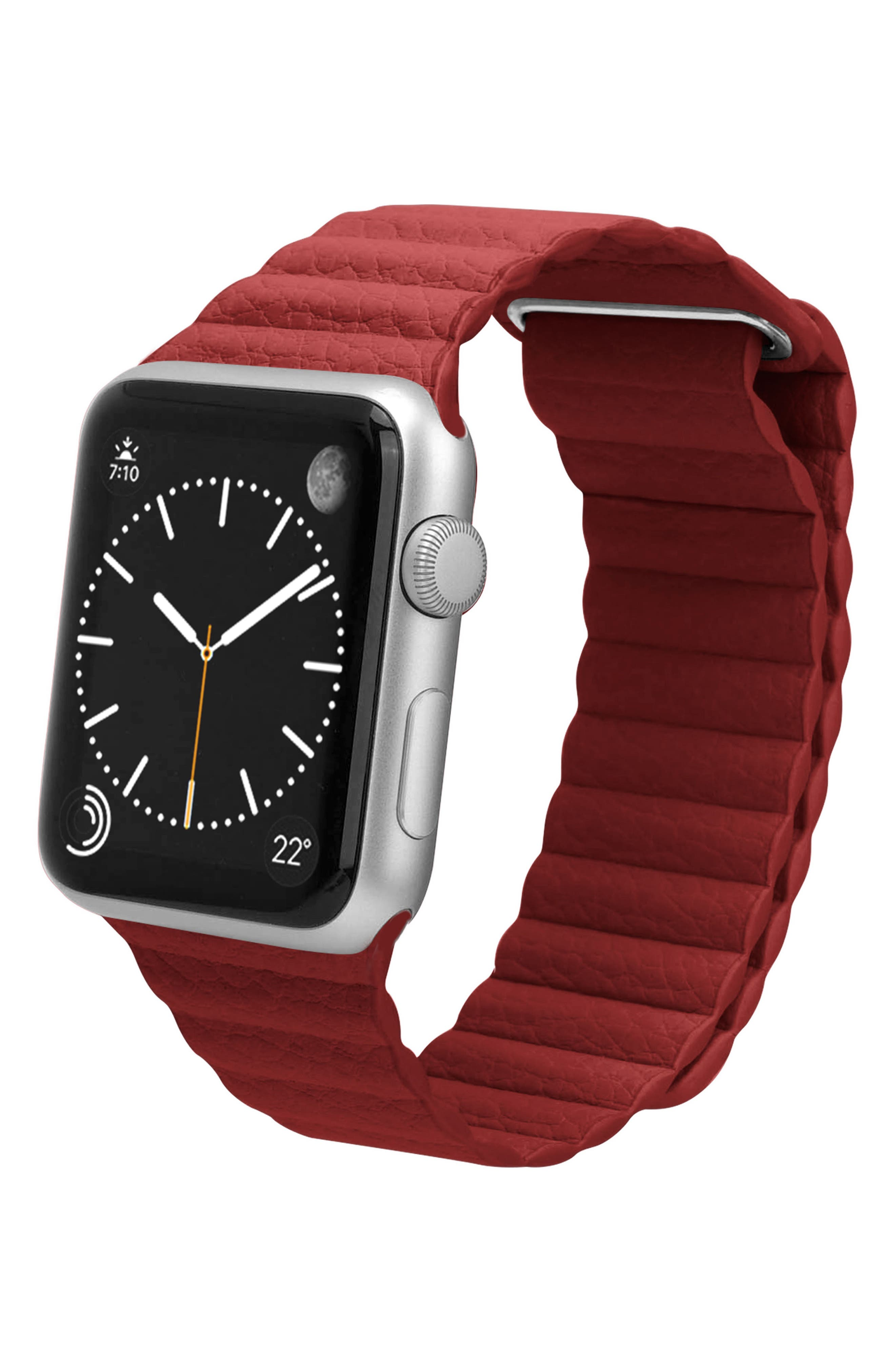 Magnetic Apple Watch Strap, 28mm,                             Alternate thumbnail 8, color,