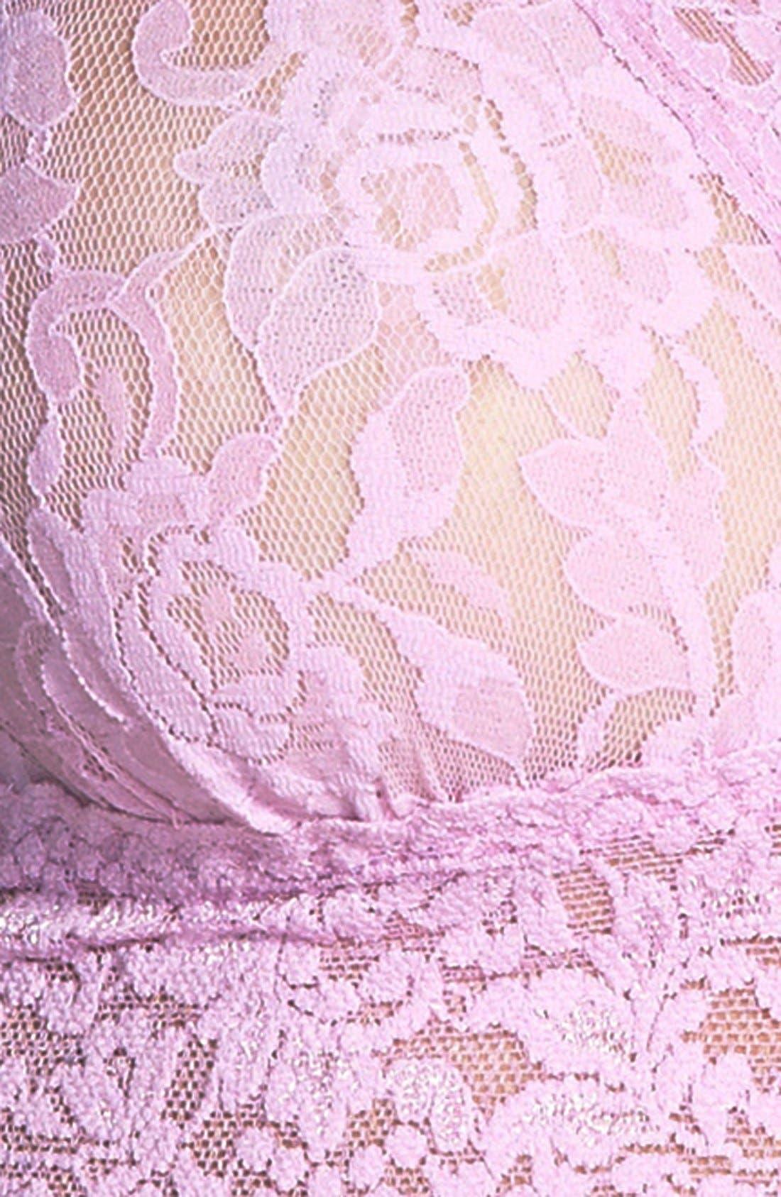 'Signature Lace' Bralette,                             Alternate thumbnail 107, color,