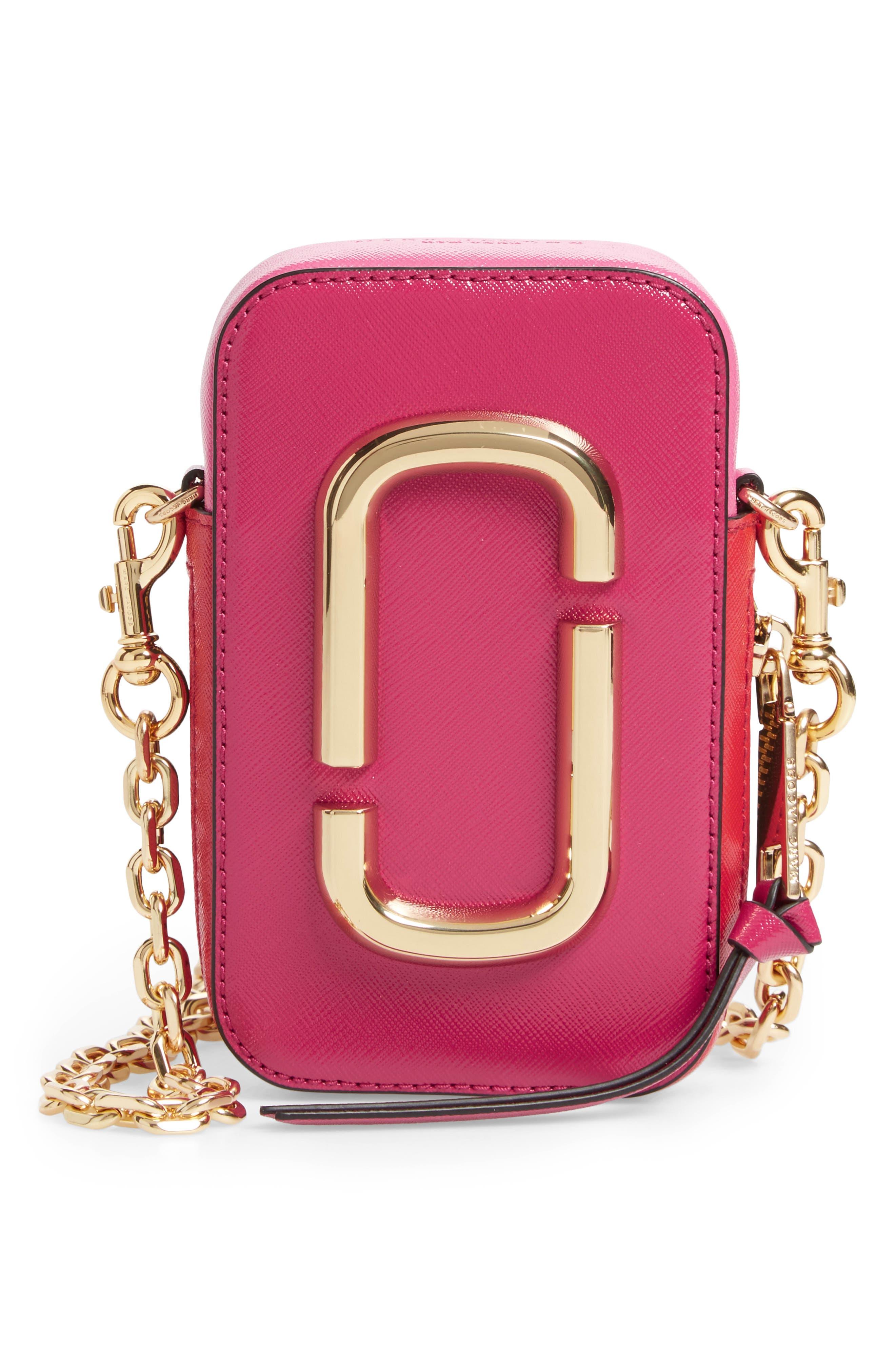 Hot Shot Saffiano Leather Shoulder Bag,                             Main thumbnail 2, color,