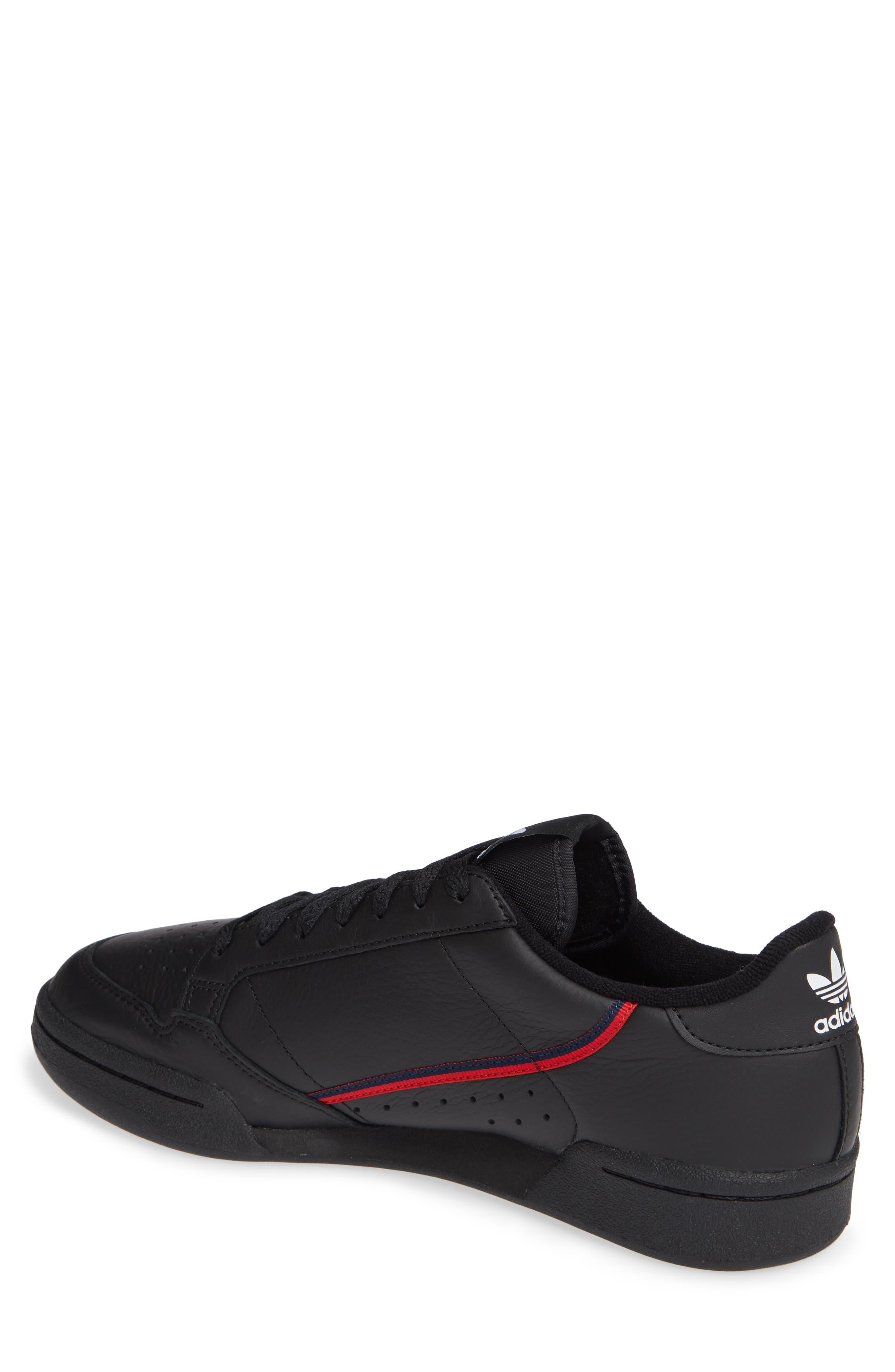 Continental 80 Sneaker,                             Alternate thumbnail 2, color,                             BLACK/ SCARLET/ NAVY