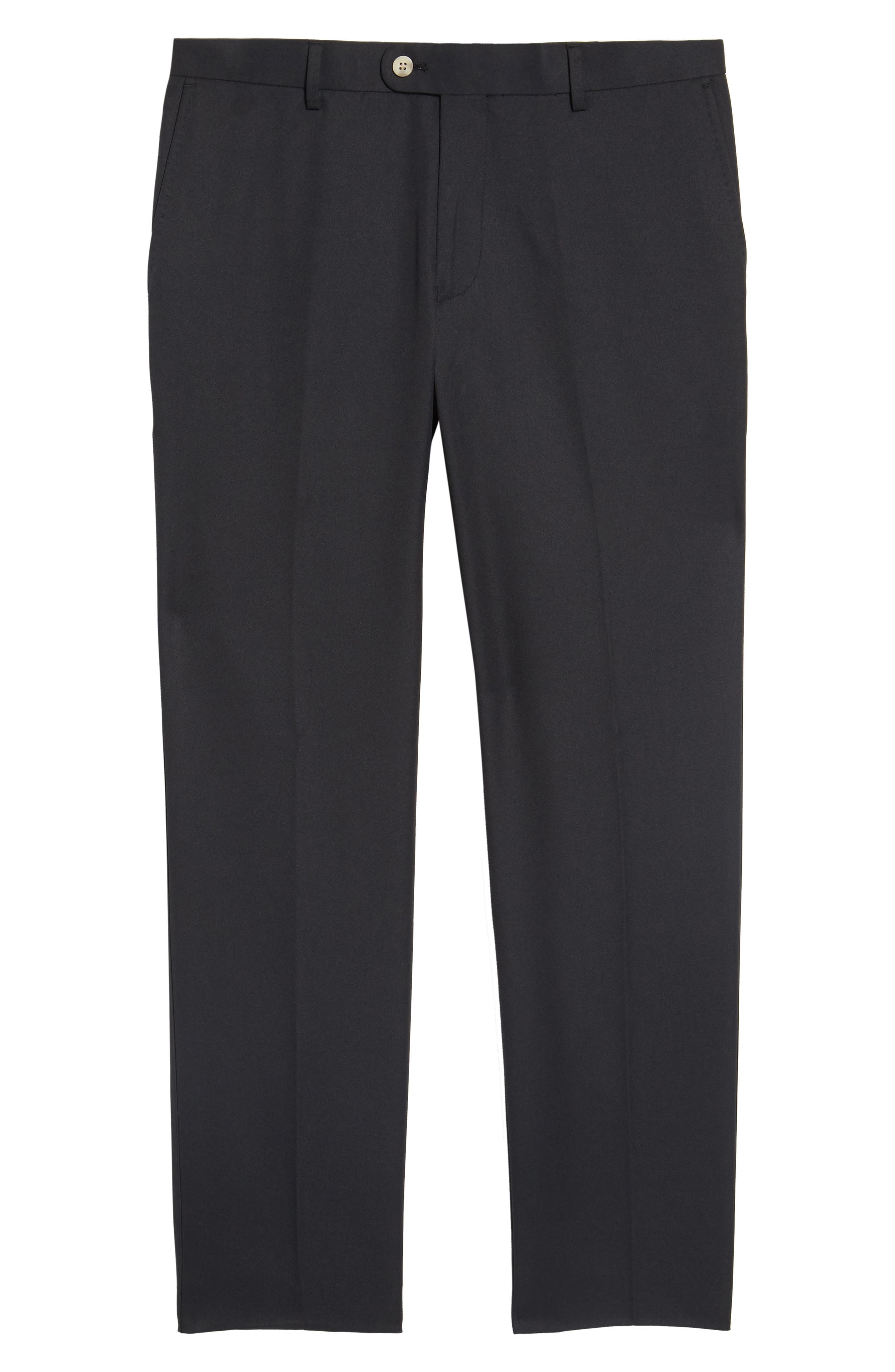 Durham High Drape Performance Pants,                             Alternate thumbnail 6, color,                             001