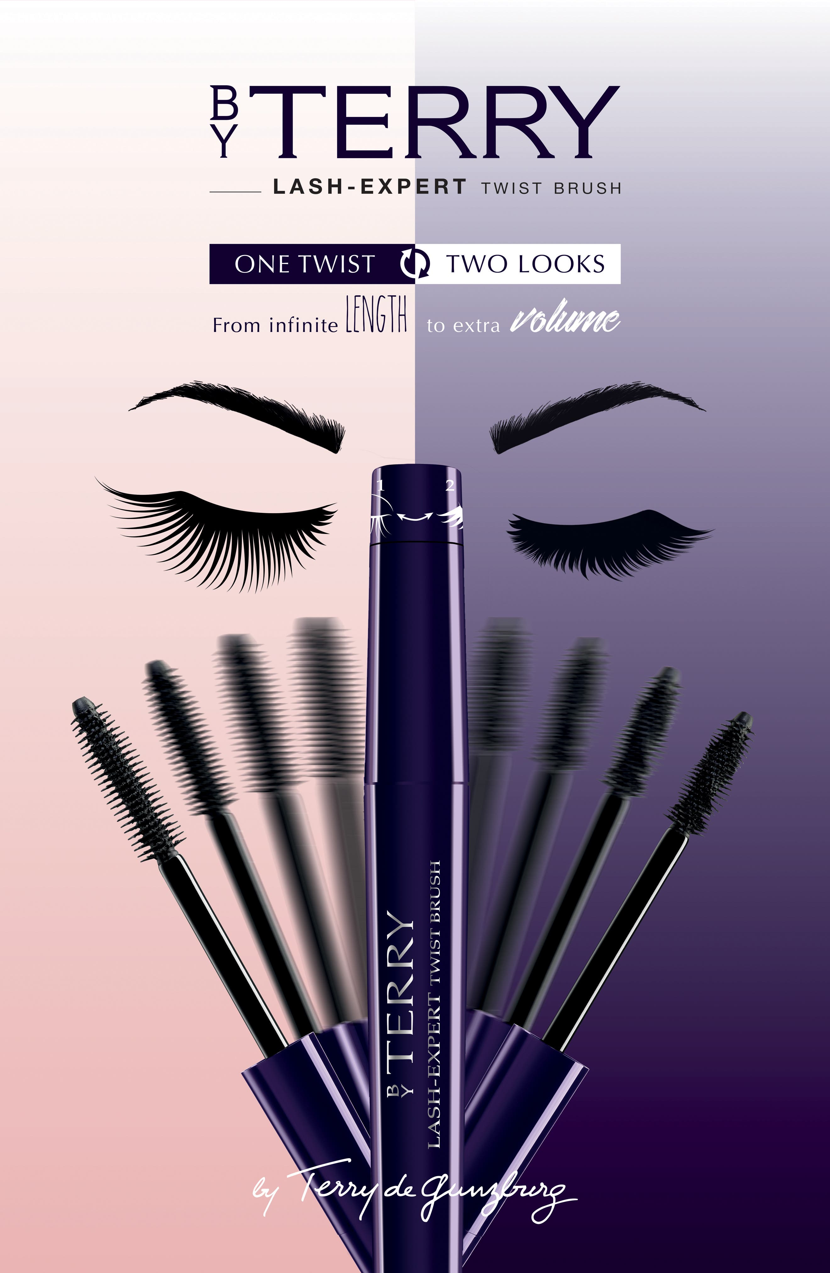 SPACE.NK.apothecary By Terry Lash-Expert Twist Brush Double Effect Mascara,                             Alternate thumbnail 4, color,                             BLACK