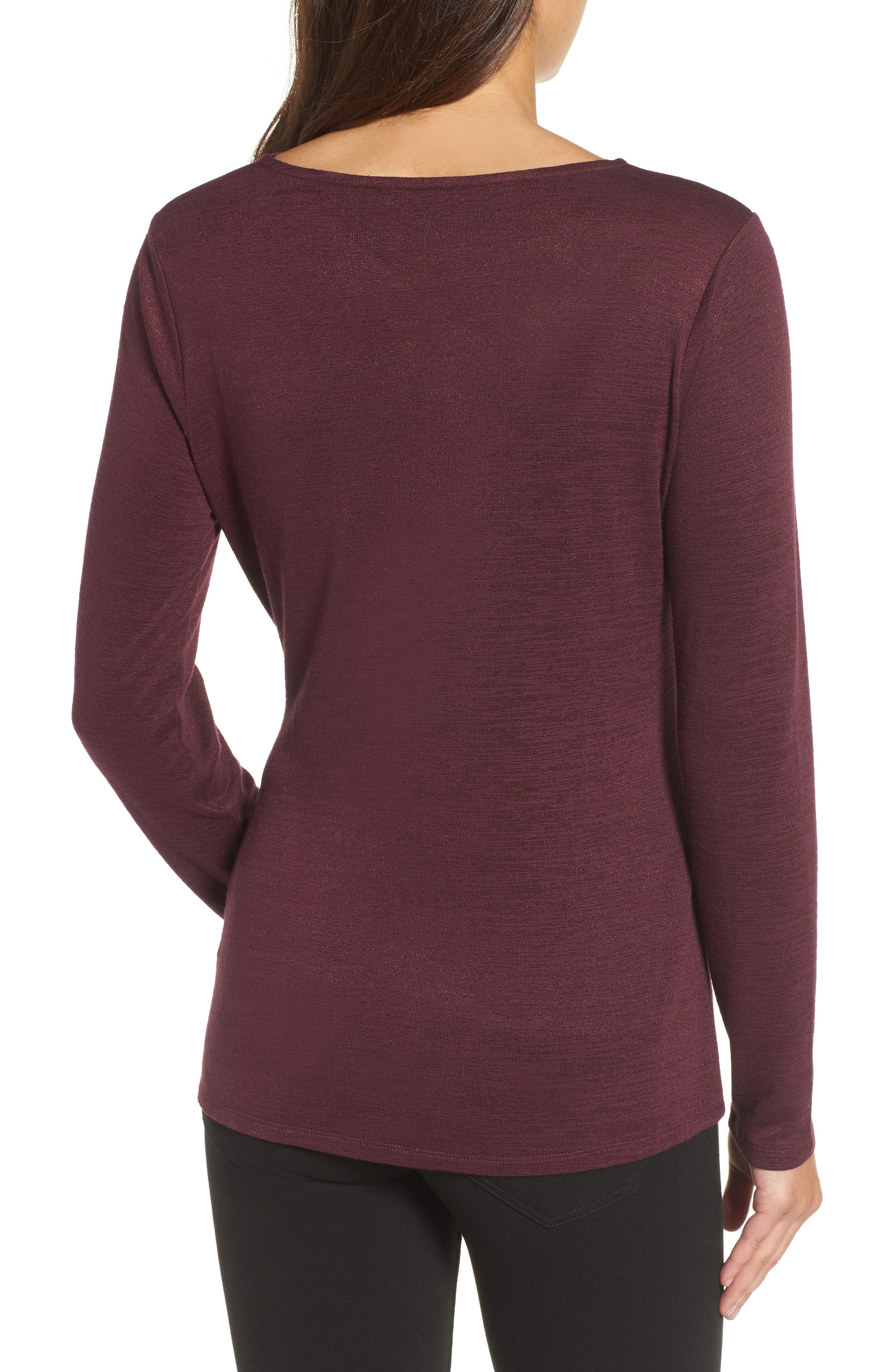 Every Occasion Drape Top,                             Alternate thumbnail 8, color,