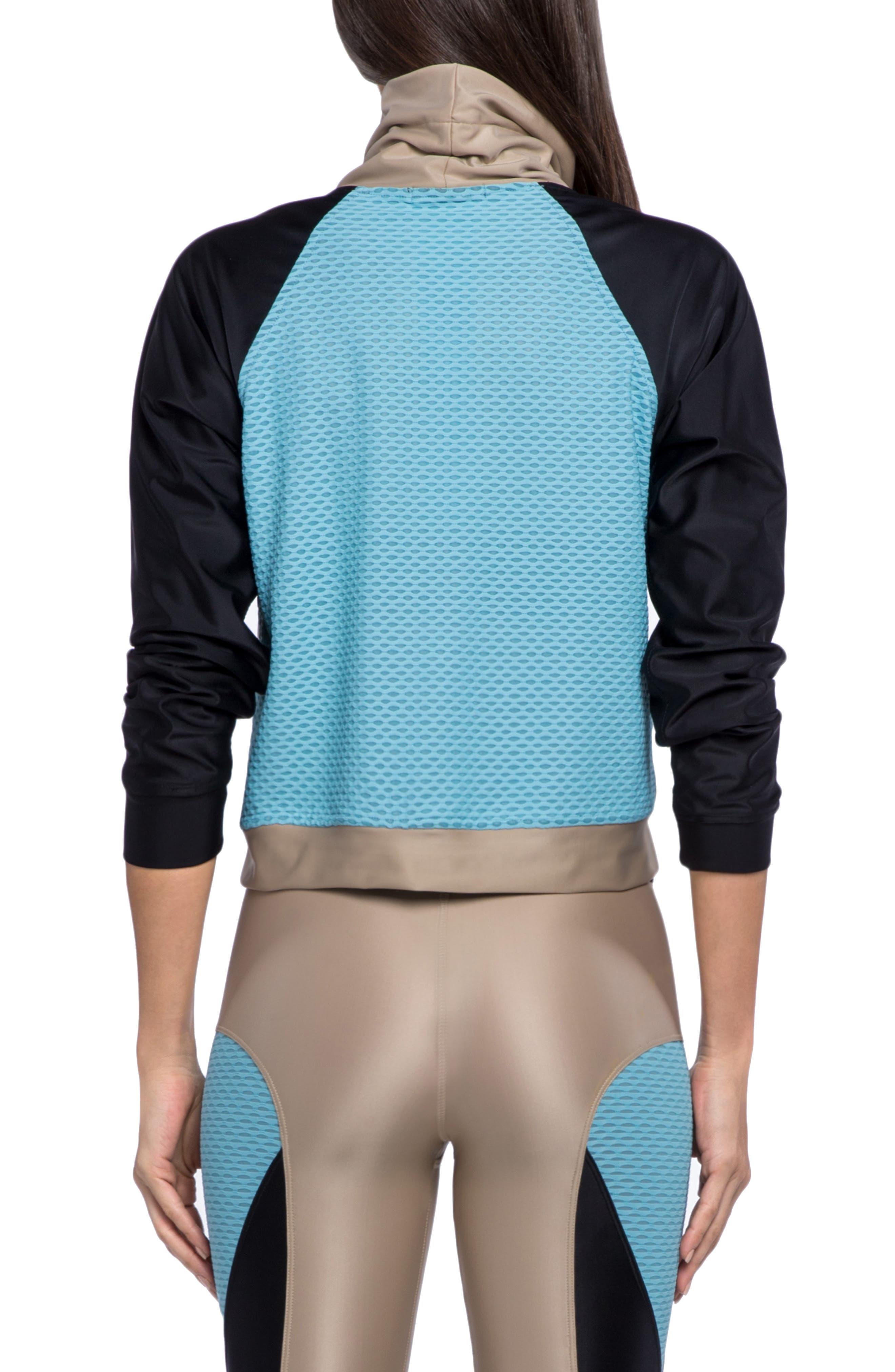 Pump Energy Sweatshirt,                             Alternate thumbnail 2, color,                             HUMMUS/ BLACK/ MILKYBLUE