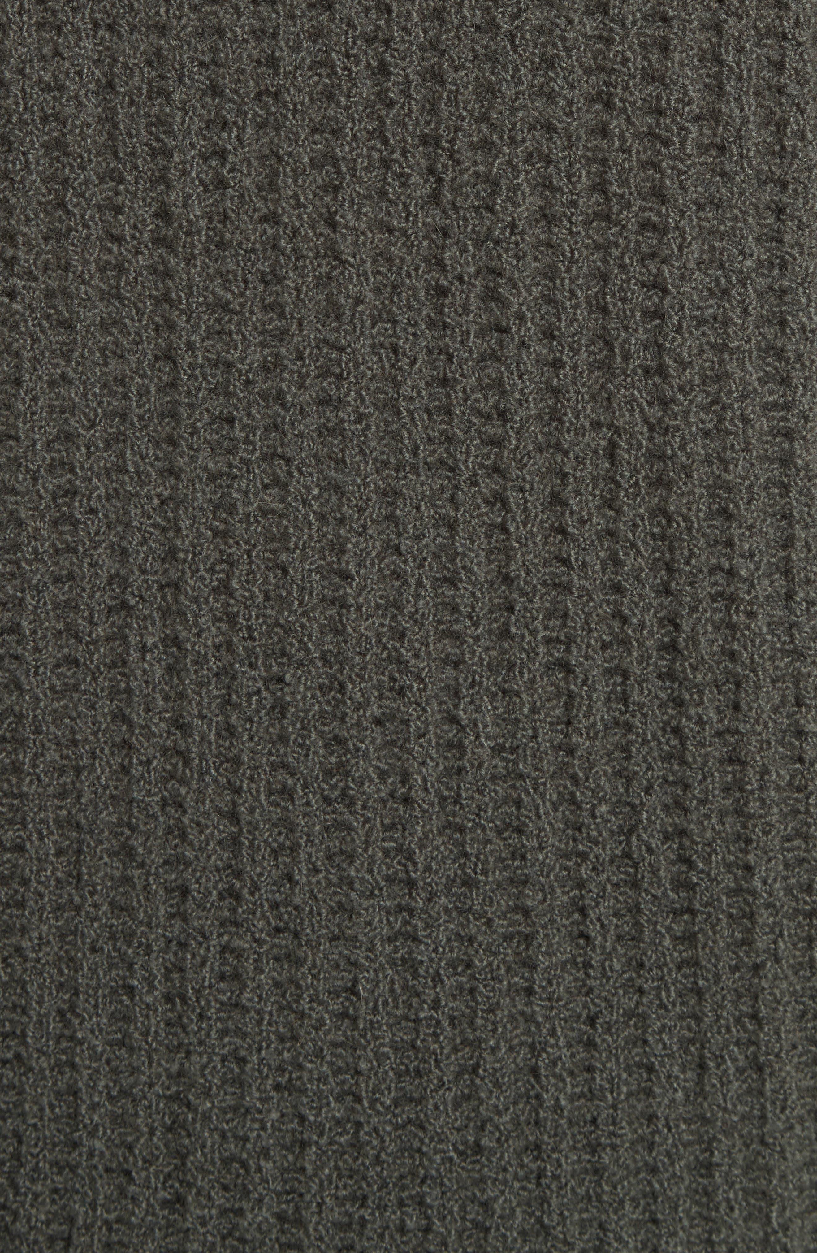 Deep V-Neck Cashmere Blend Sweater,                             Alternate thumbnail 14, color,