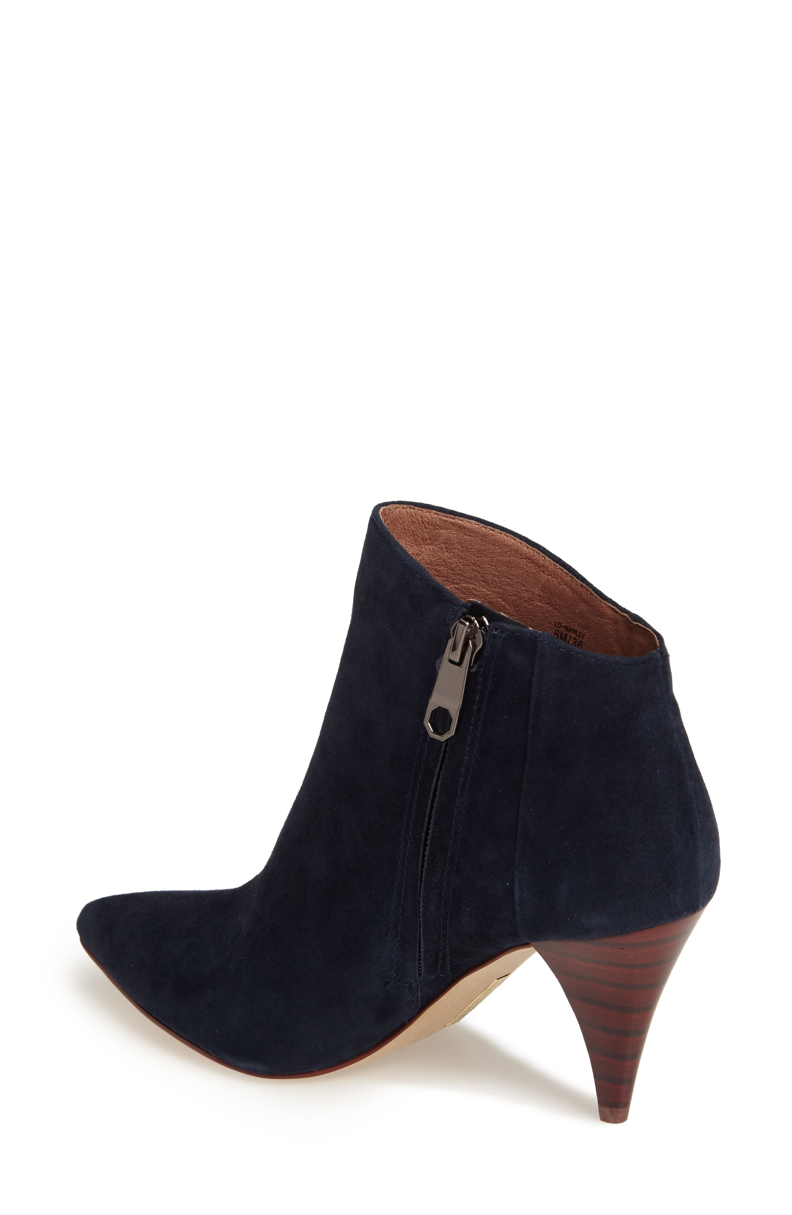Warley Pointy Toe Bootie,                             Alternate thumbnail 6, color,